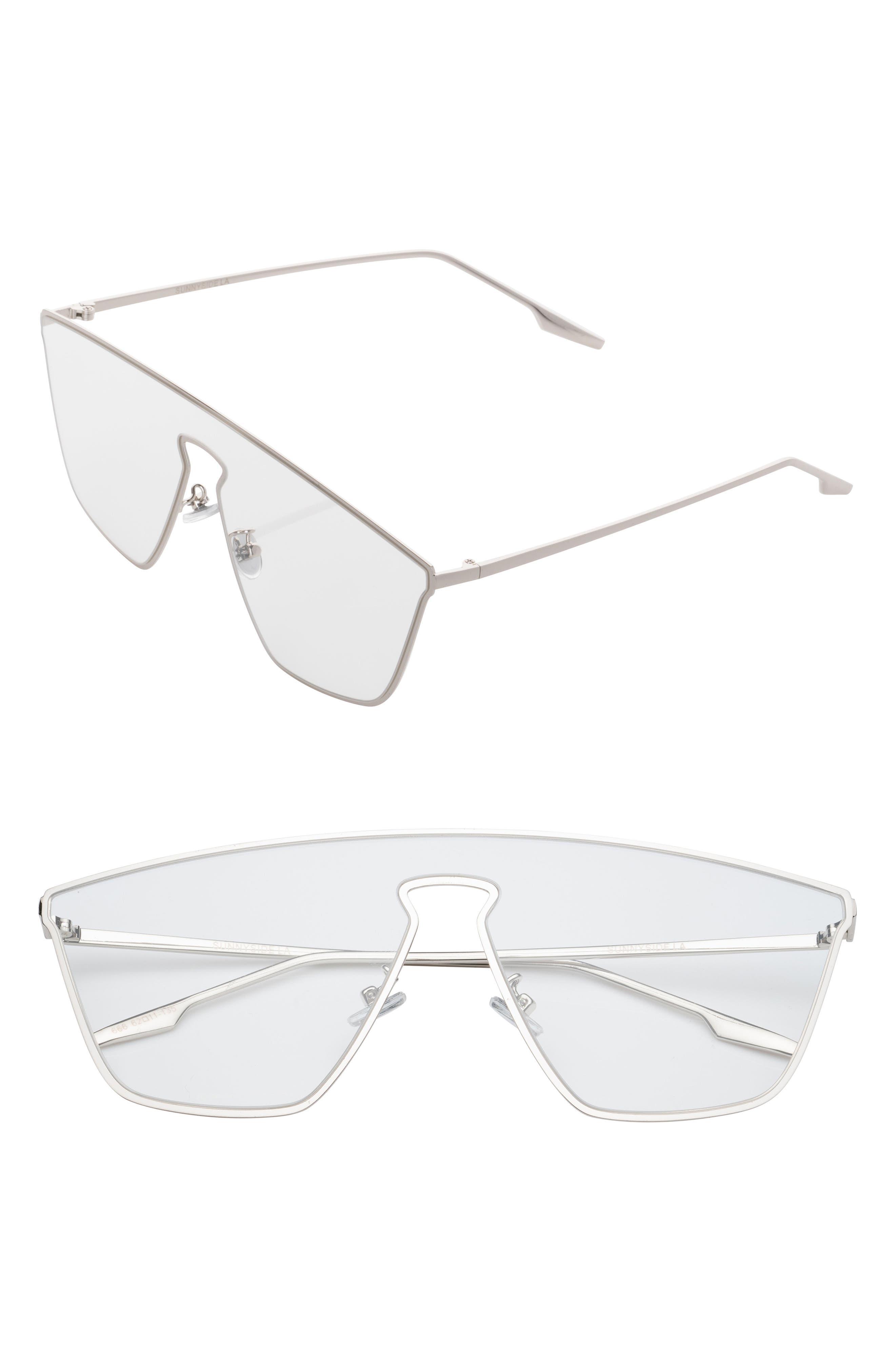 Irregular 65mm Clear Glasses,                             Main thumbnail 1, color,                             040