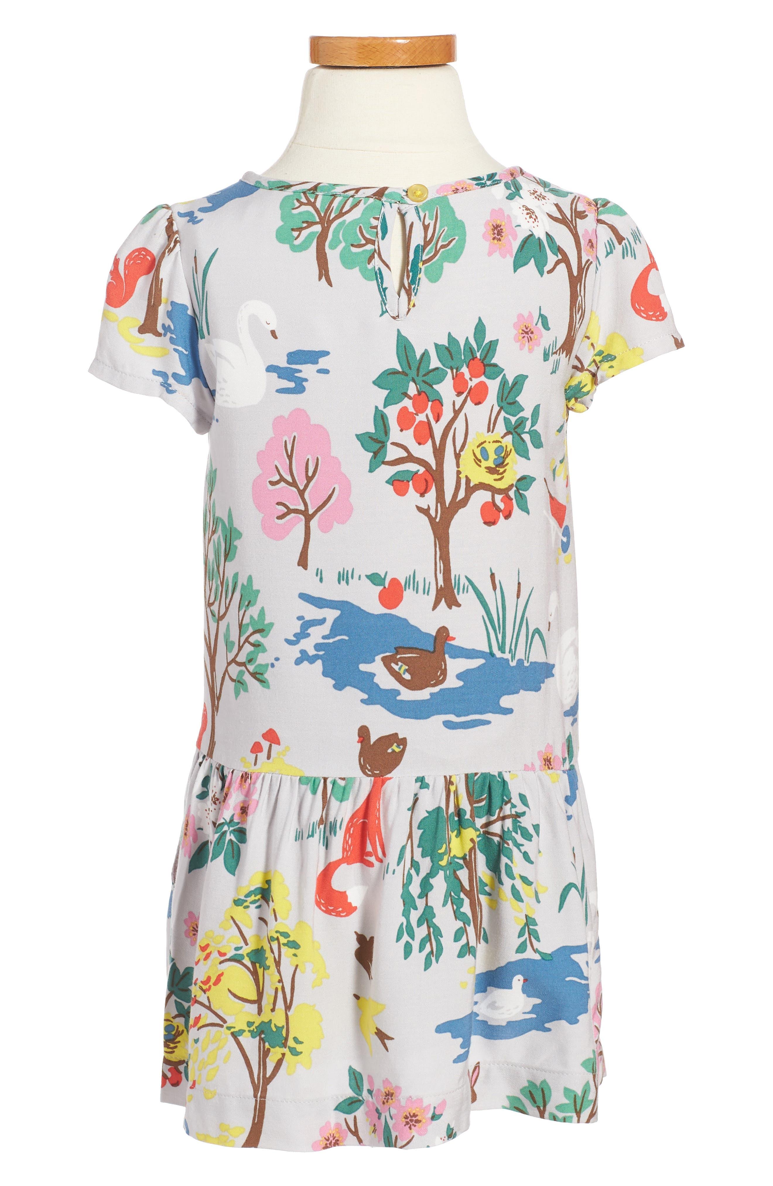 Print Tea Dress,                             Alternate thumbnail 2, color,                             054