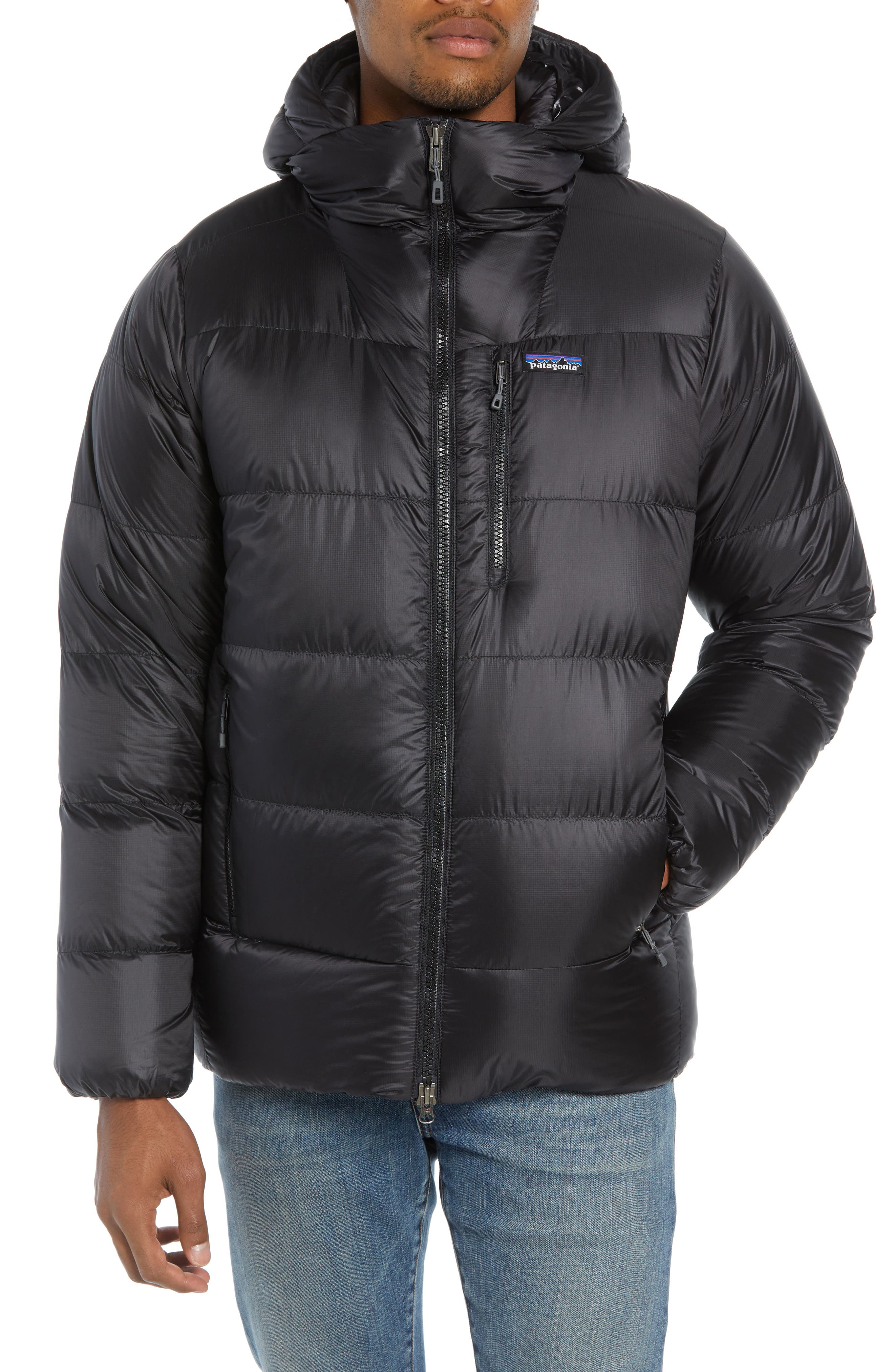 Fitz Roy Water Repellent 800-Fill-Power Down Parka,                             Main thumbnail 1, color,                             001