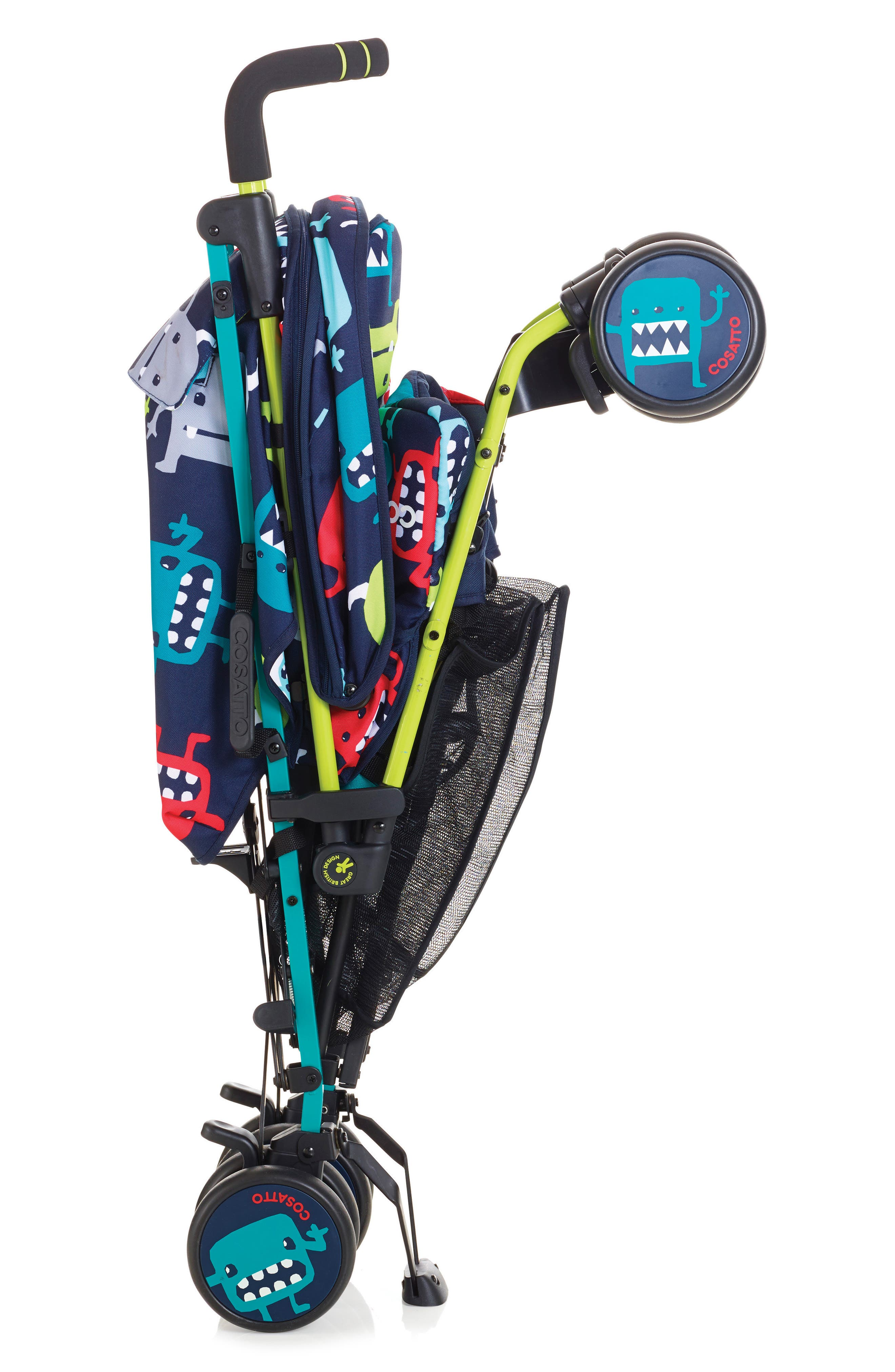 Supa Dupa Cuddle Monster Double Stroller,                             Alternate thumbnail 2, color,                             001