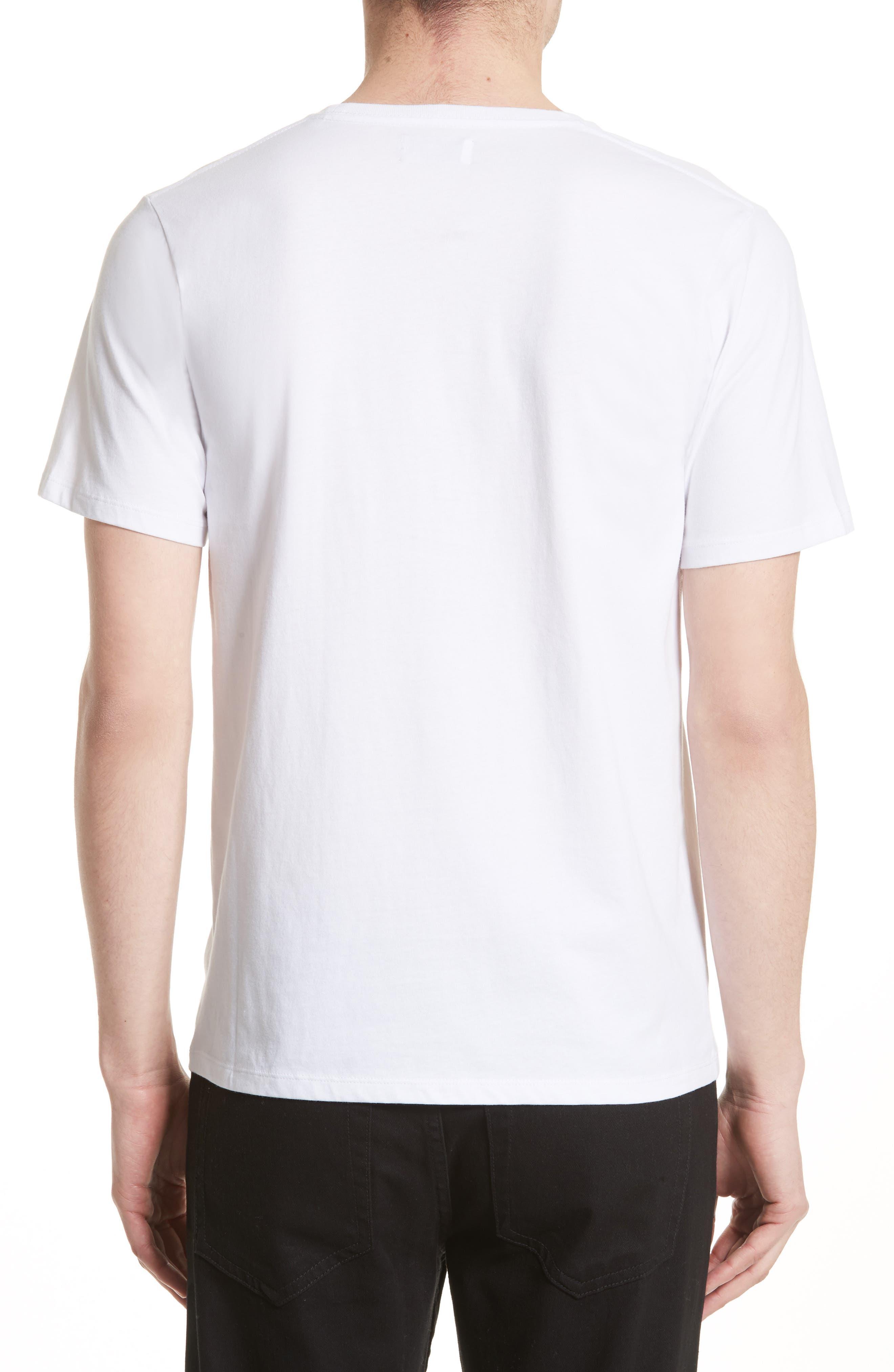 Rectangle Logo Graphic T-Shirt,                             Alternate thumbnail 2, color,                             110