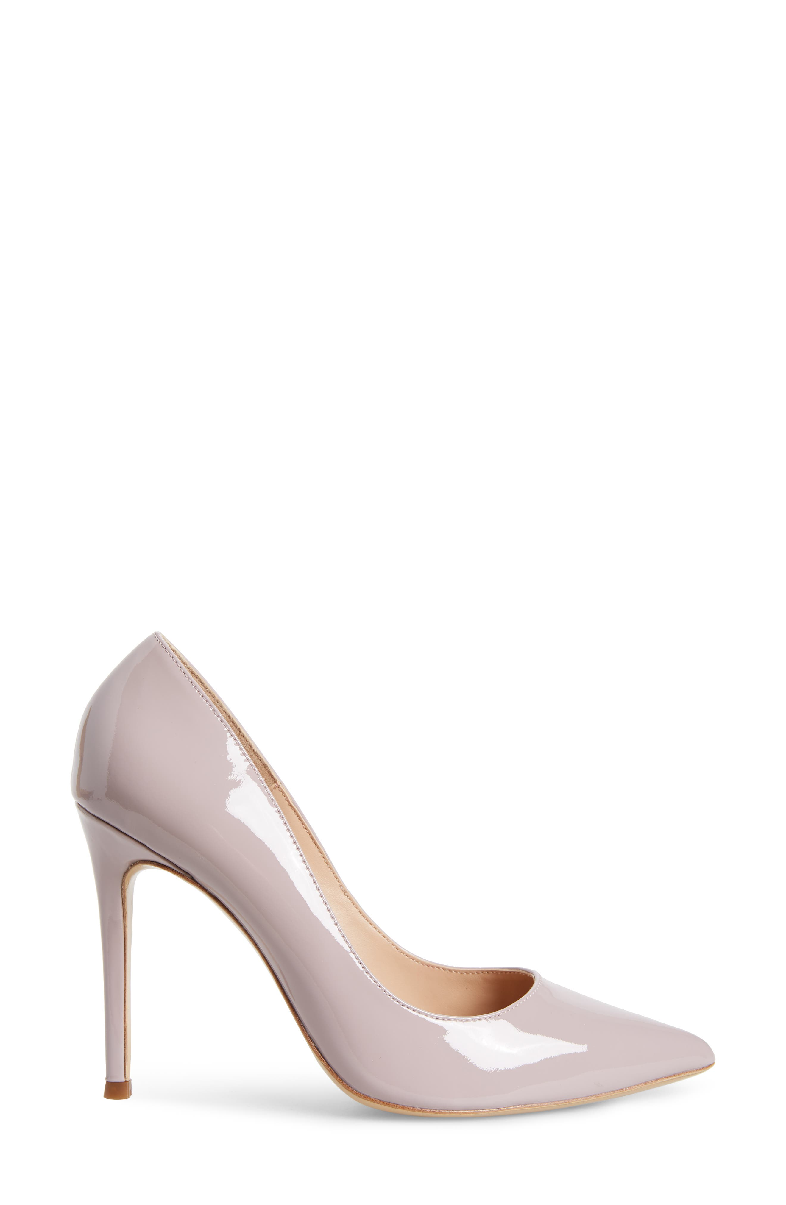Calessi Pointy Toe Pump,                             Alternate thumbnail 3, color,                             LAVENDER PATENT LEATHER