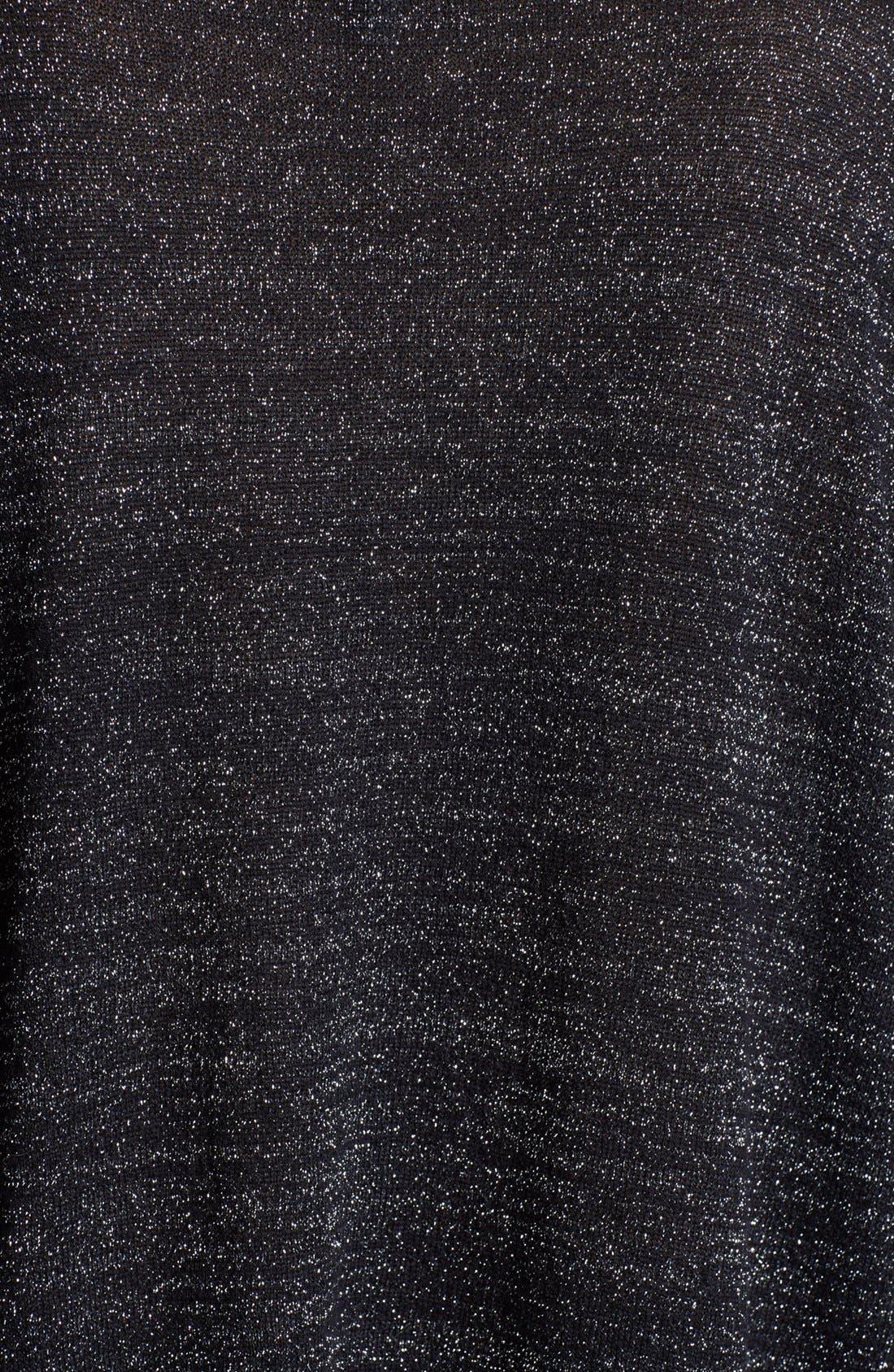 'Calee' Metallic Sweater,                             Alternate thumbnail 2, color,                             005