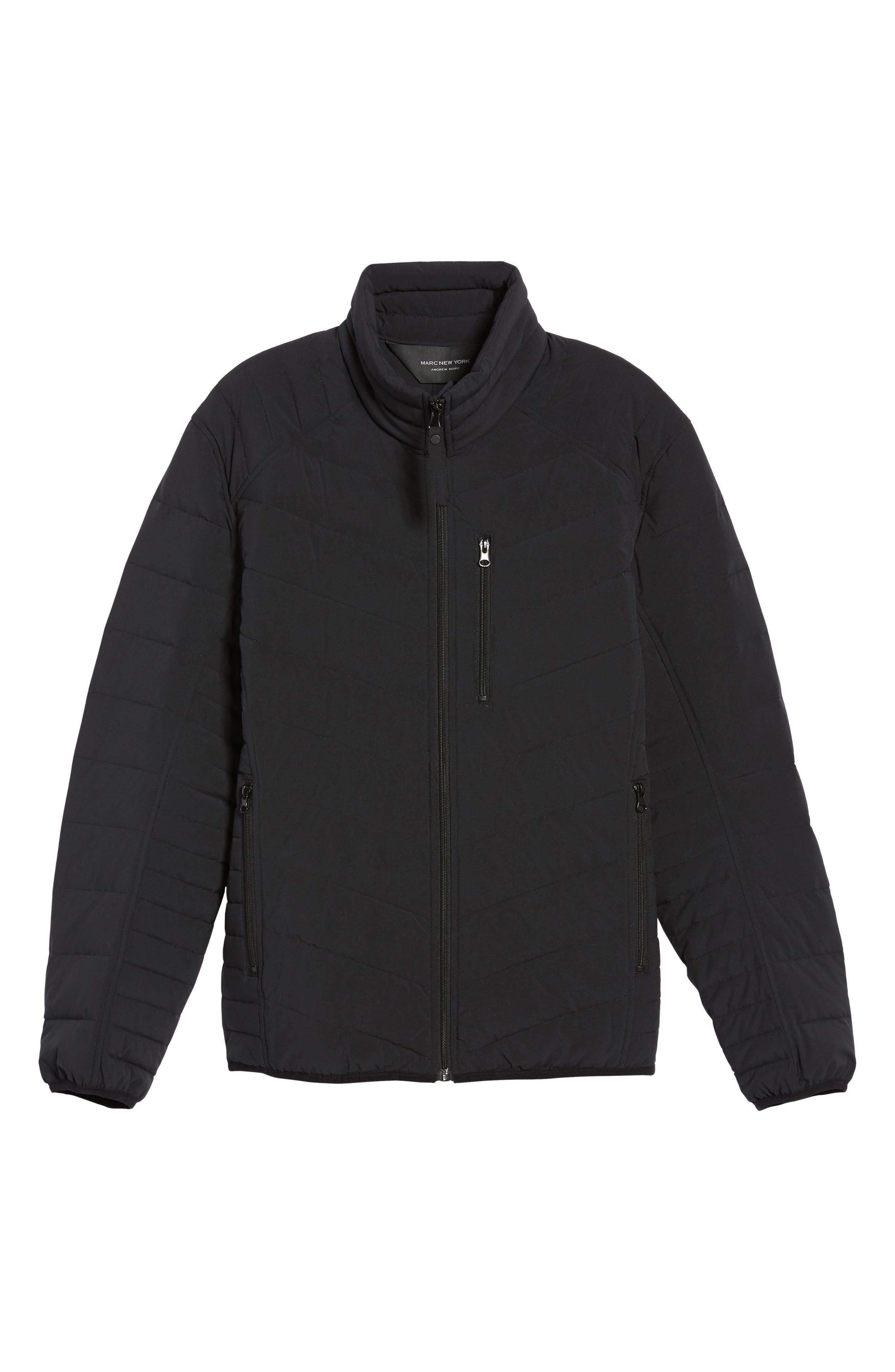 Stretch Packable Down Jacket,                             Alternate thumbnail 5, color,                             001