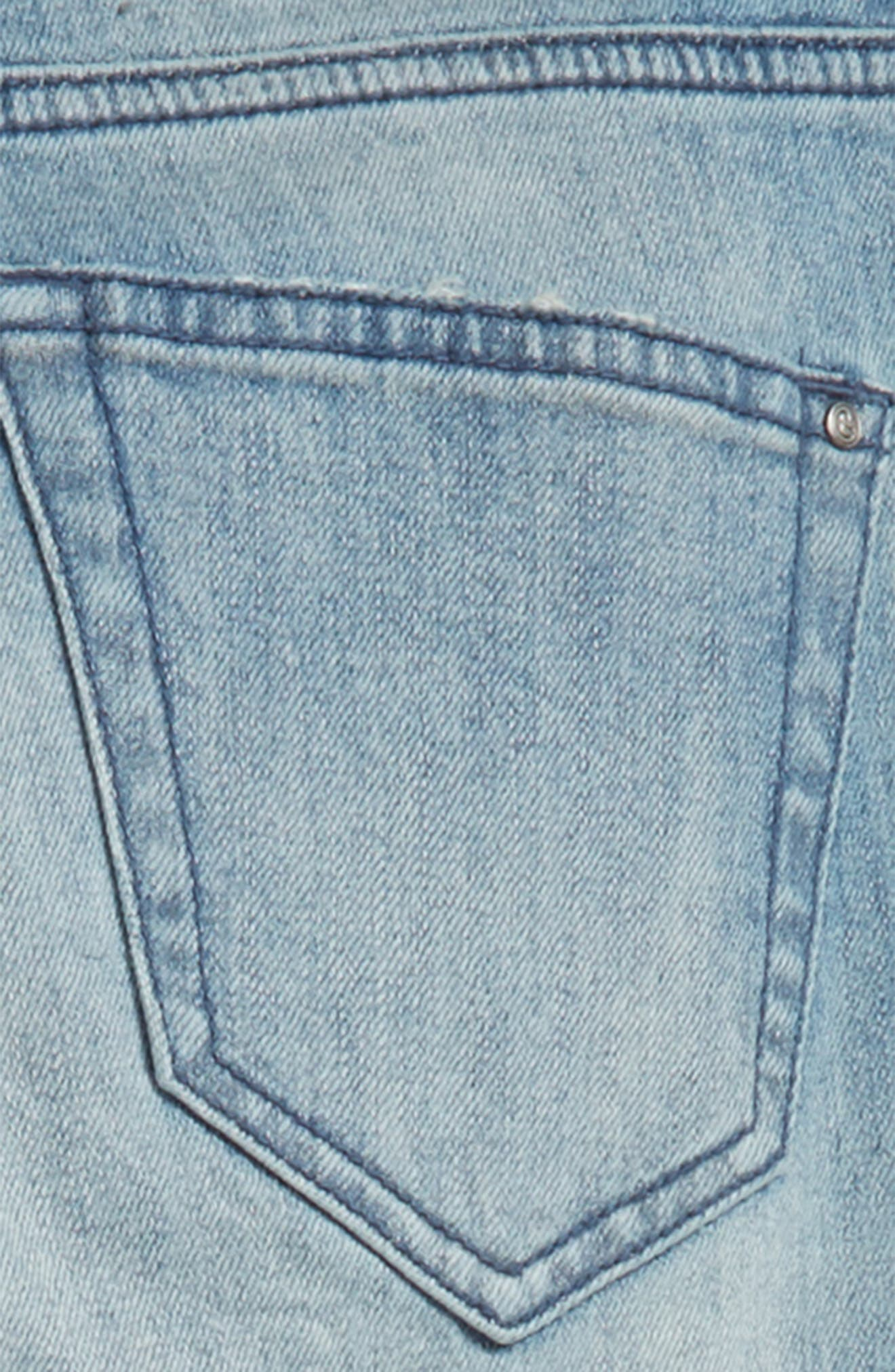 Classic Skinny Jeans,                             Alternate thumbnail 3, color,                             FROST WASH