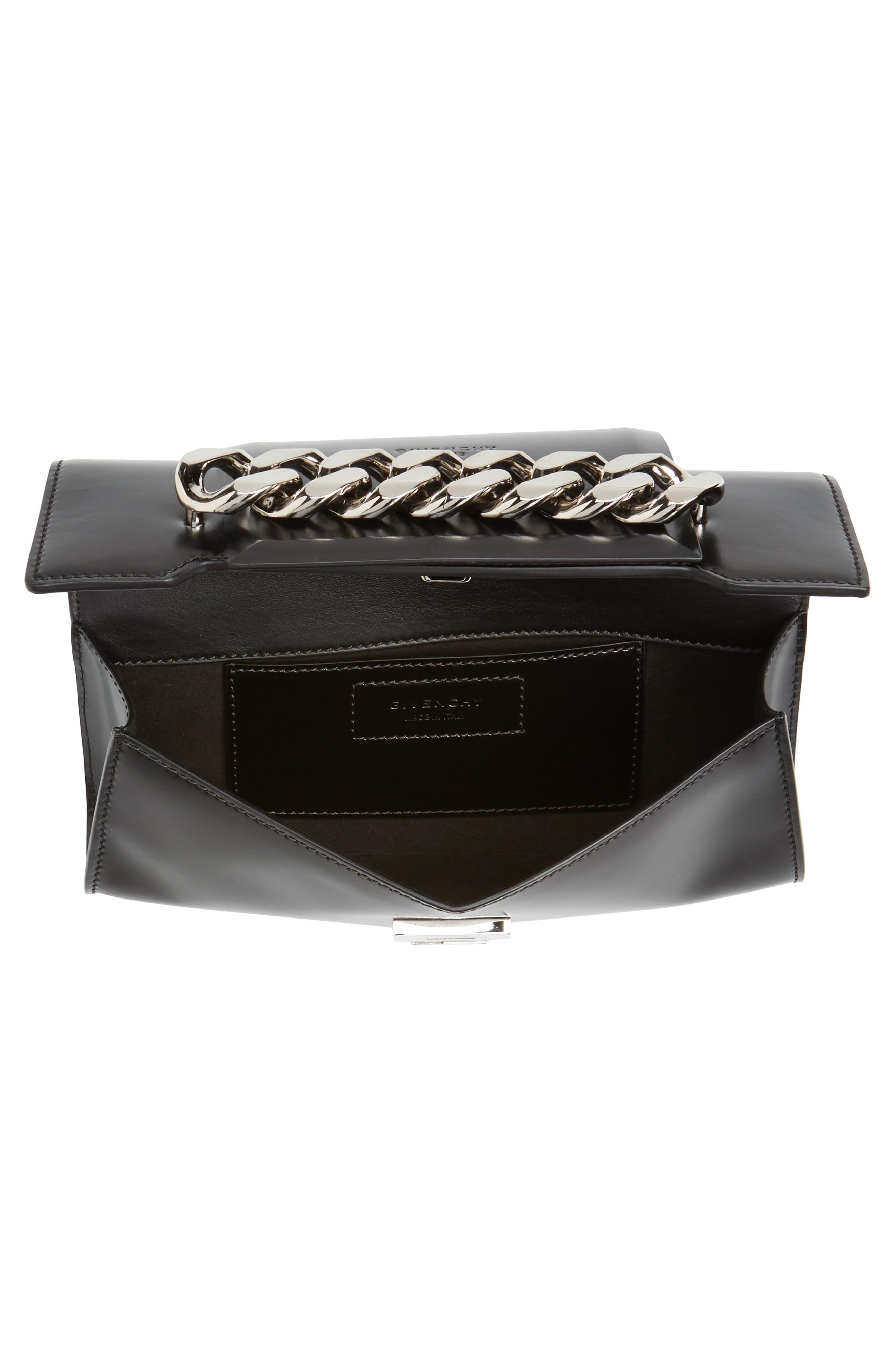 Mini Infinity Calfskin Leather Shoulder/Crossbody Bag,                             Alternate thumbnail 7, color,