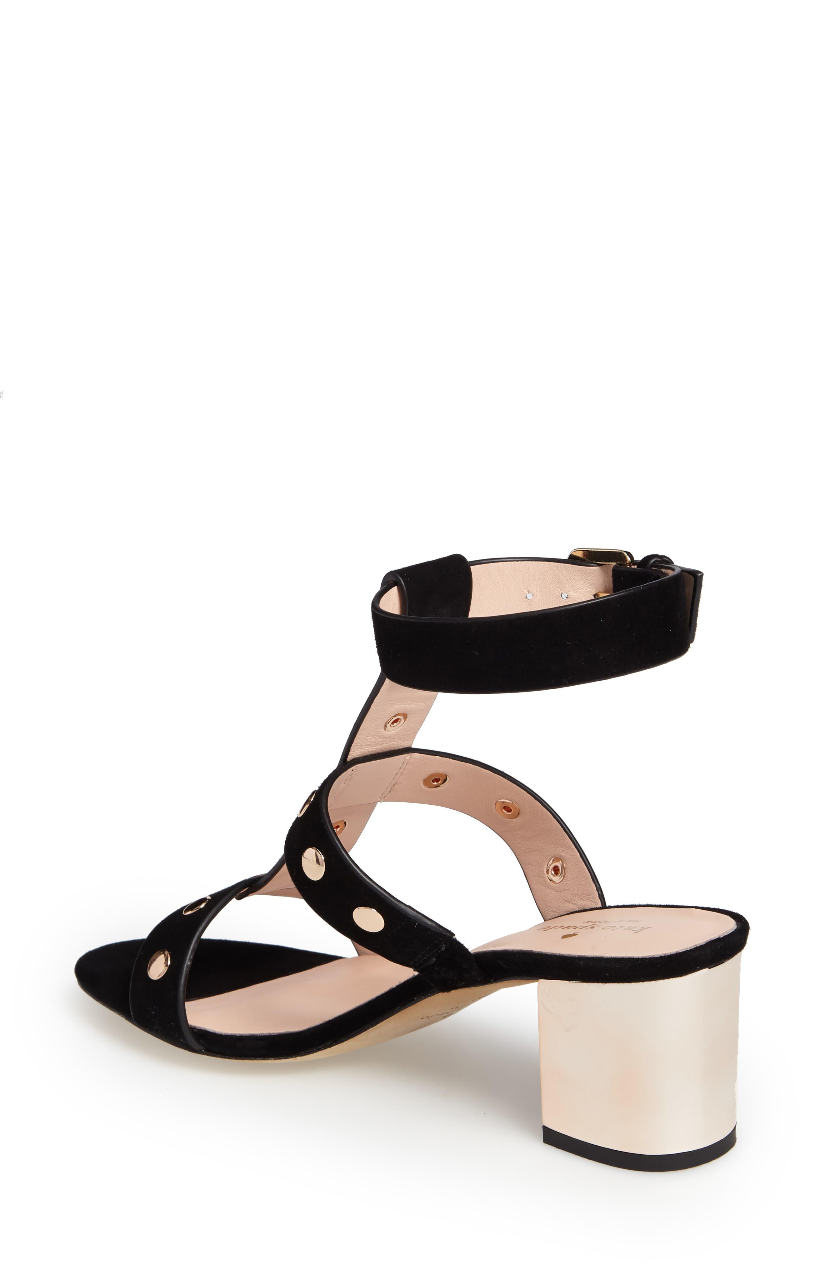 welby t-strap sandal,                             Alternate thumbnail 2, color,                             001