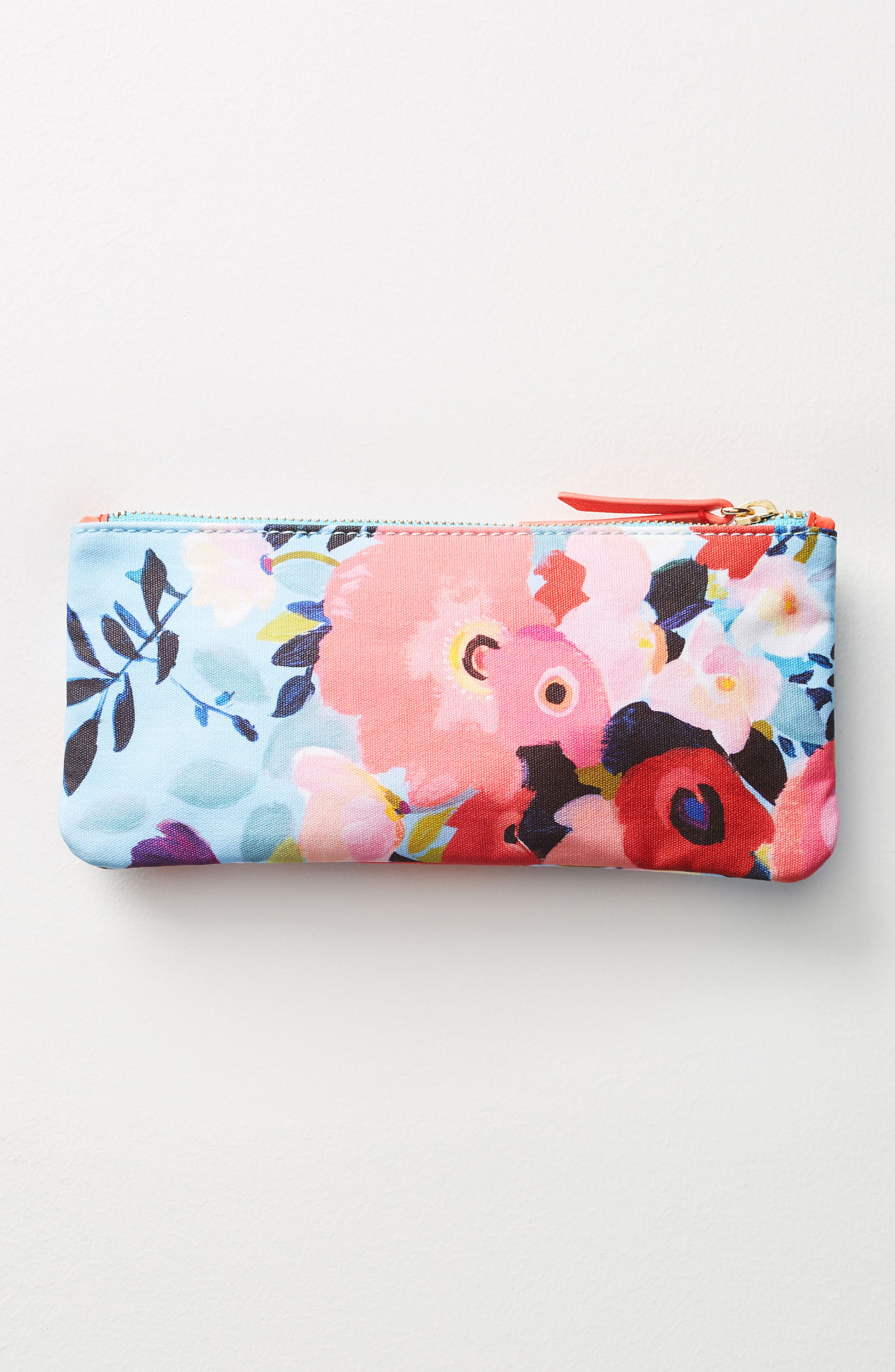 Picturesque Florals Pencil Pouch,                             Alternate thumbnail 2, color,                             400