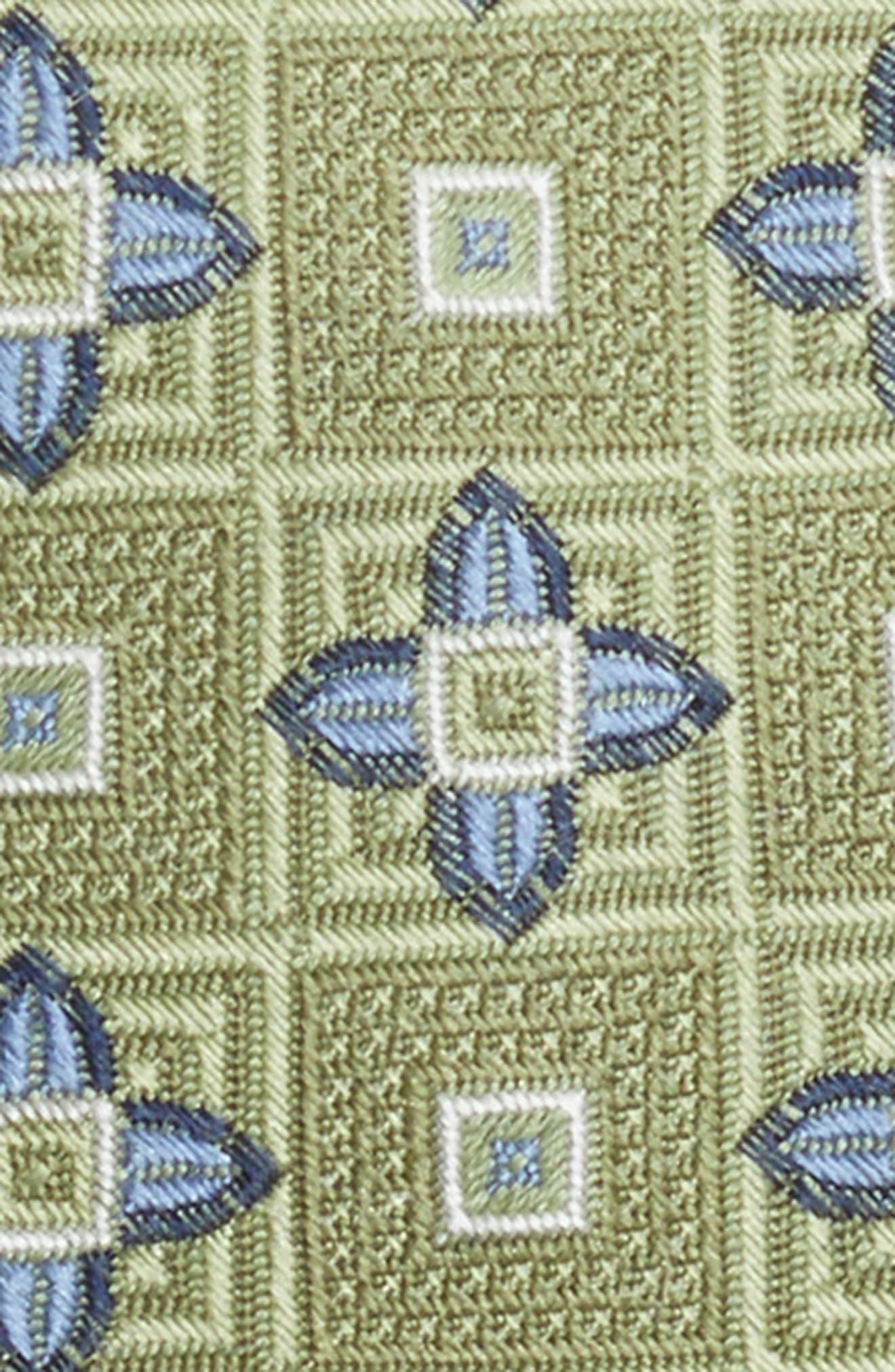 Floral Medallion Silk Tie,                             Alternate thumbnail 2, color,                             300