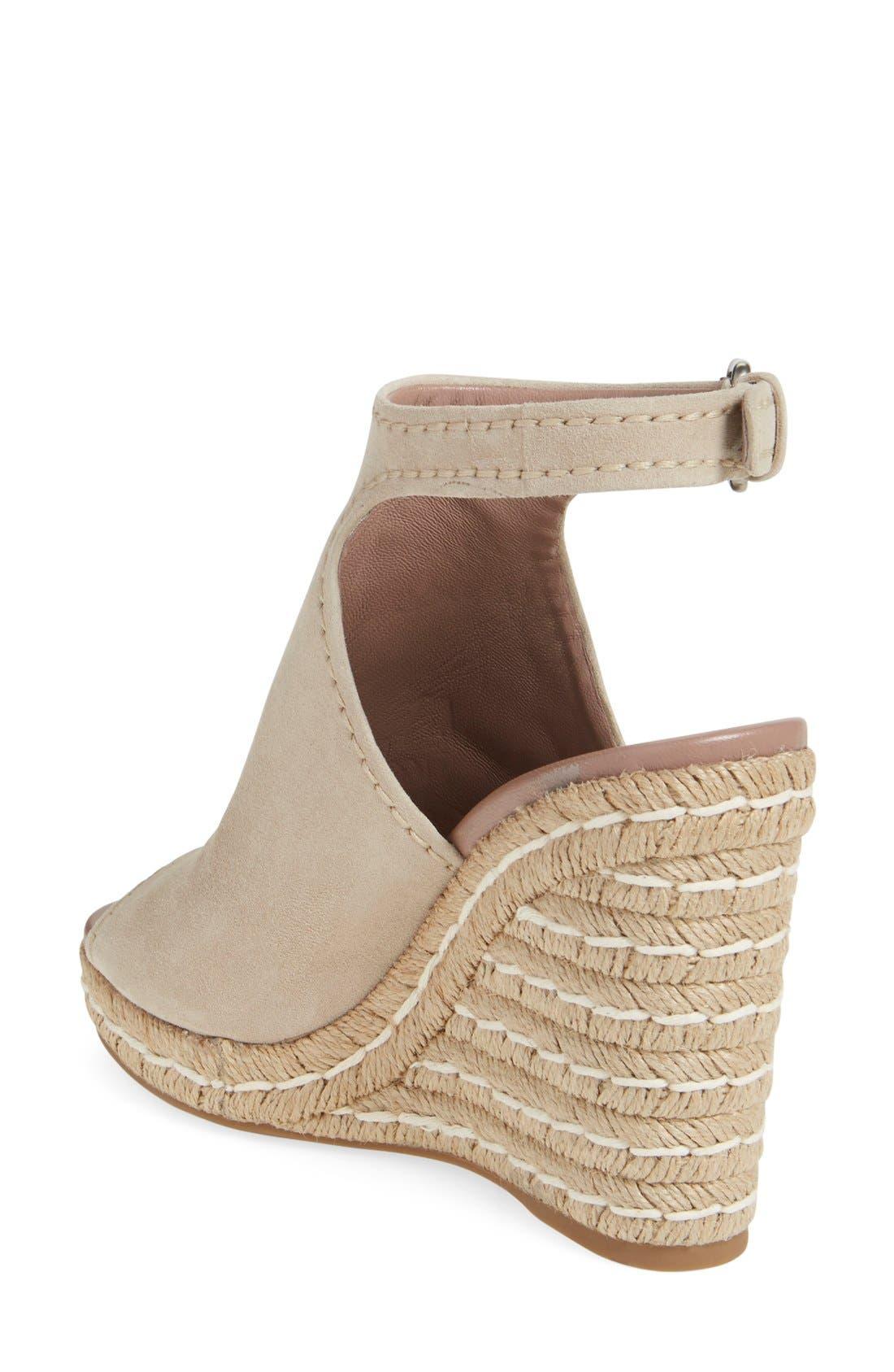 Ankle Strap Espadrille Wedge Sandal,                             Alternate thumbnail 6, color,                             250
