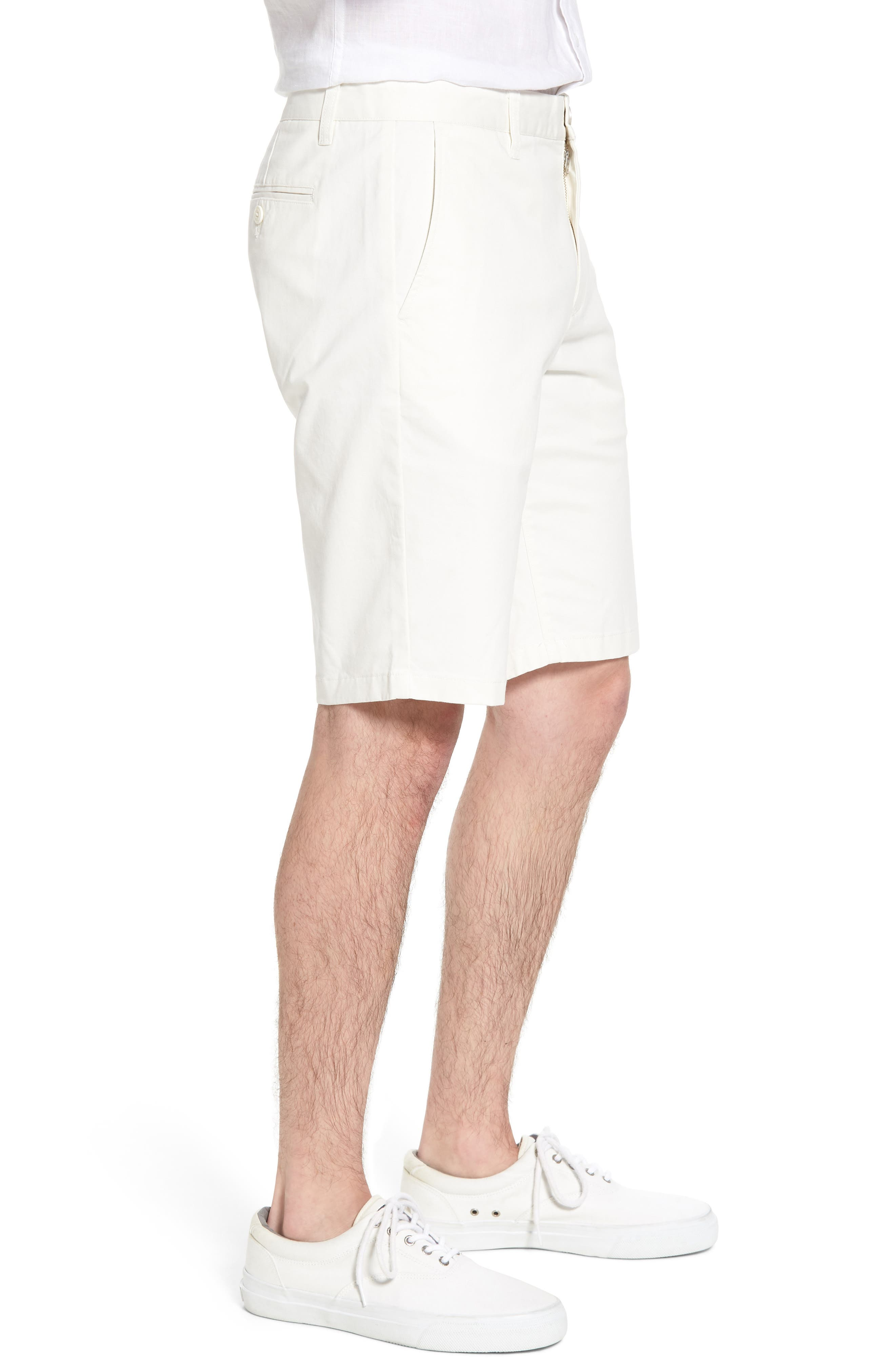 Stretch Washed Chino 11-Inch Shorts,                             Alternate thumbnail 3, color,                             100