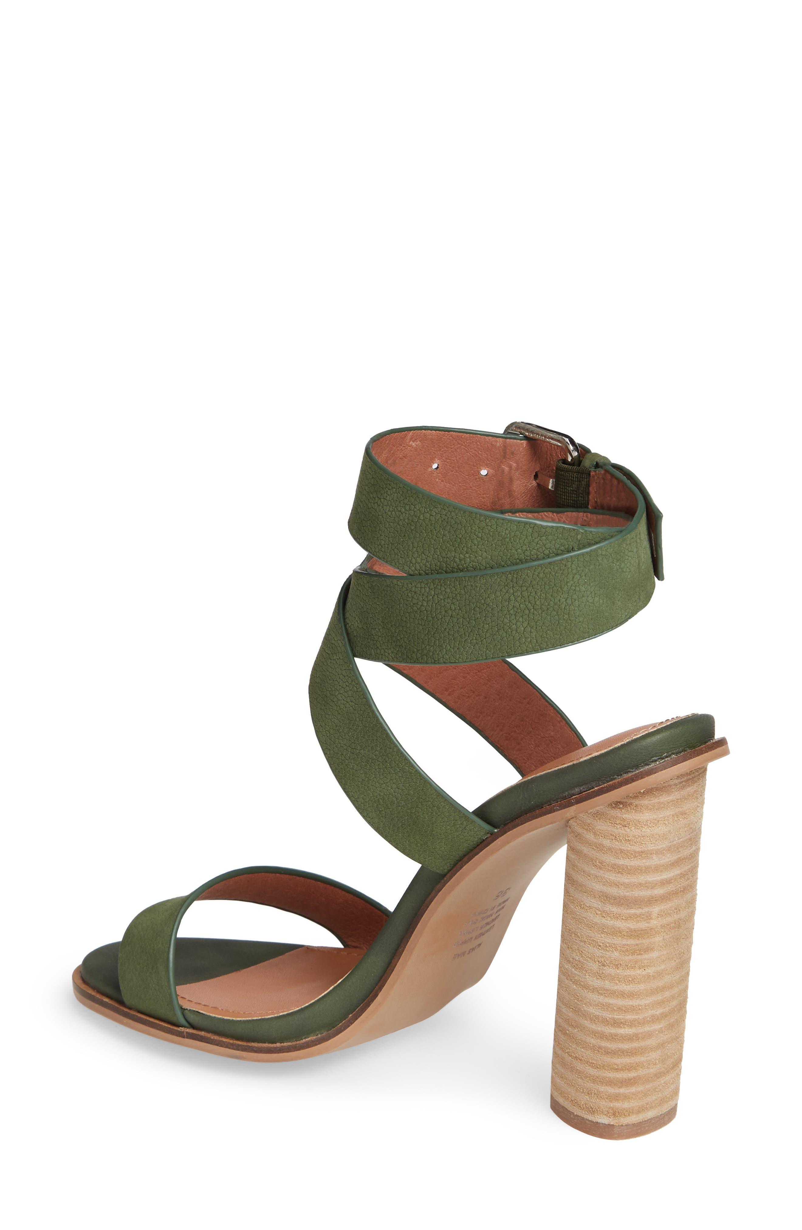Abaala Cross Strap Sandal,                             Alternate thumbnail 2, color,                             KHAKI