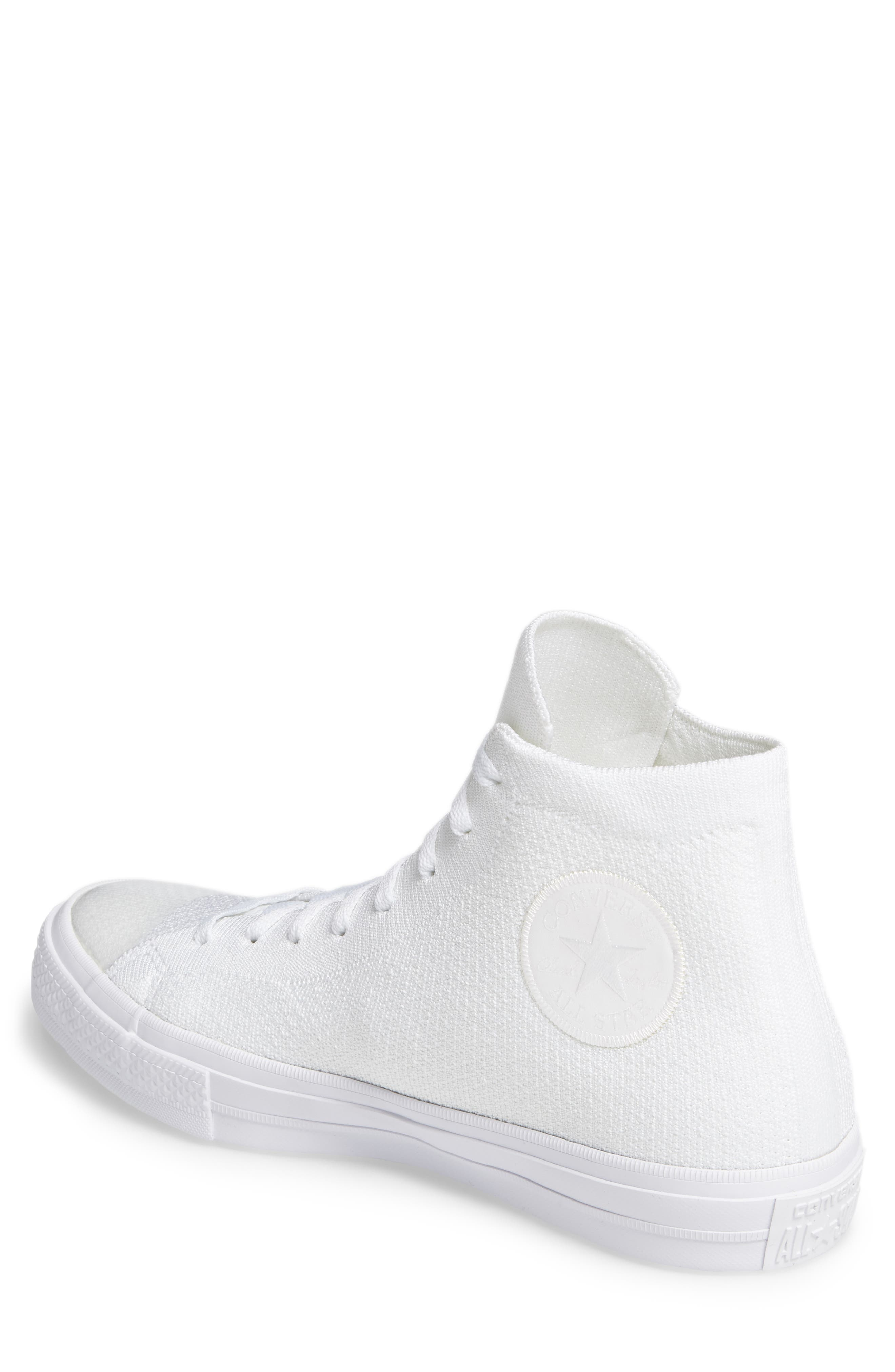 Chuck Taylor<sup>®</sup> All Star<sup>®</sup> Flyknit Hi Sneaker,                             Alternate thumbnail 10, color,
