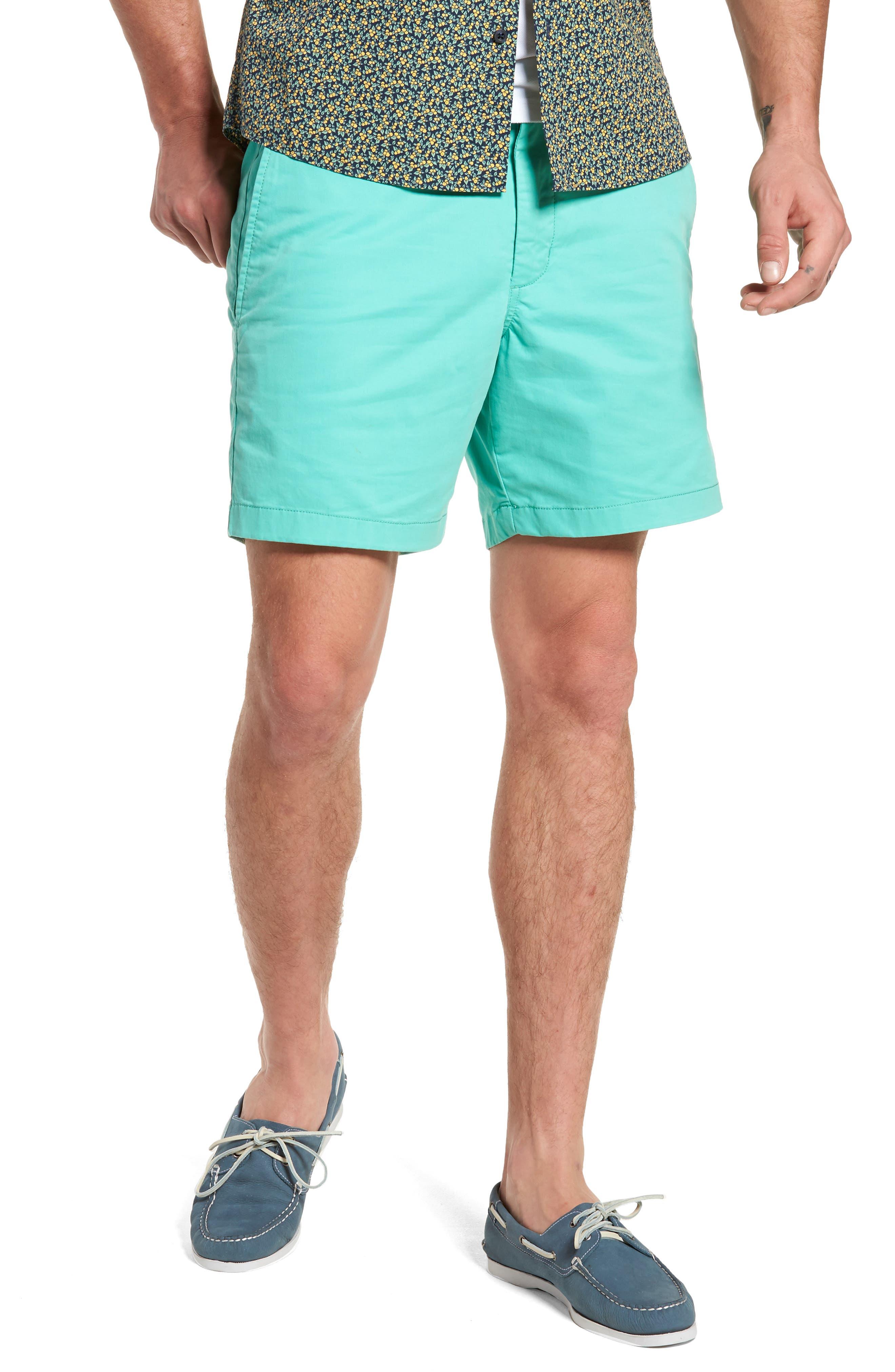Ballard Slim Fit Stretch Chino 7-Inch Shorts,                             Main thumbnail 6, color,