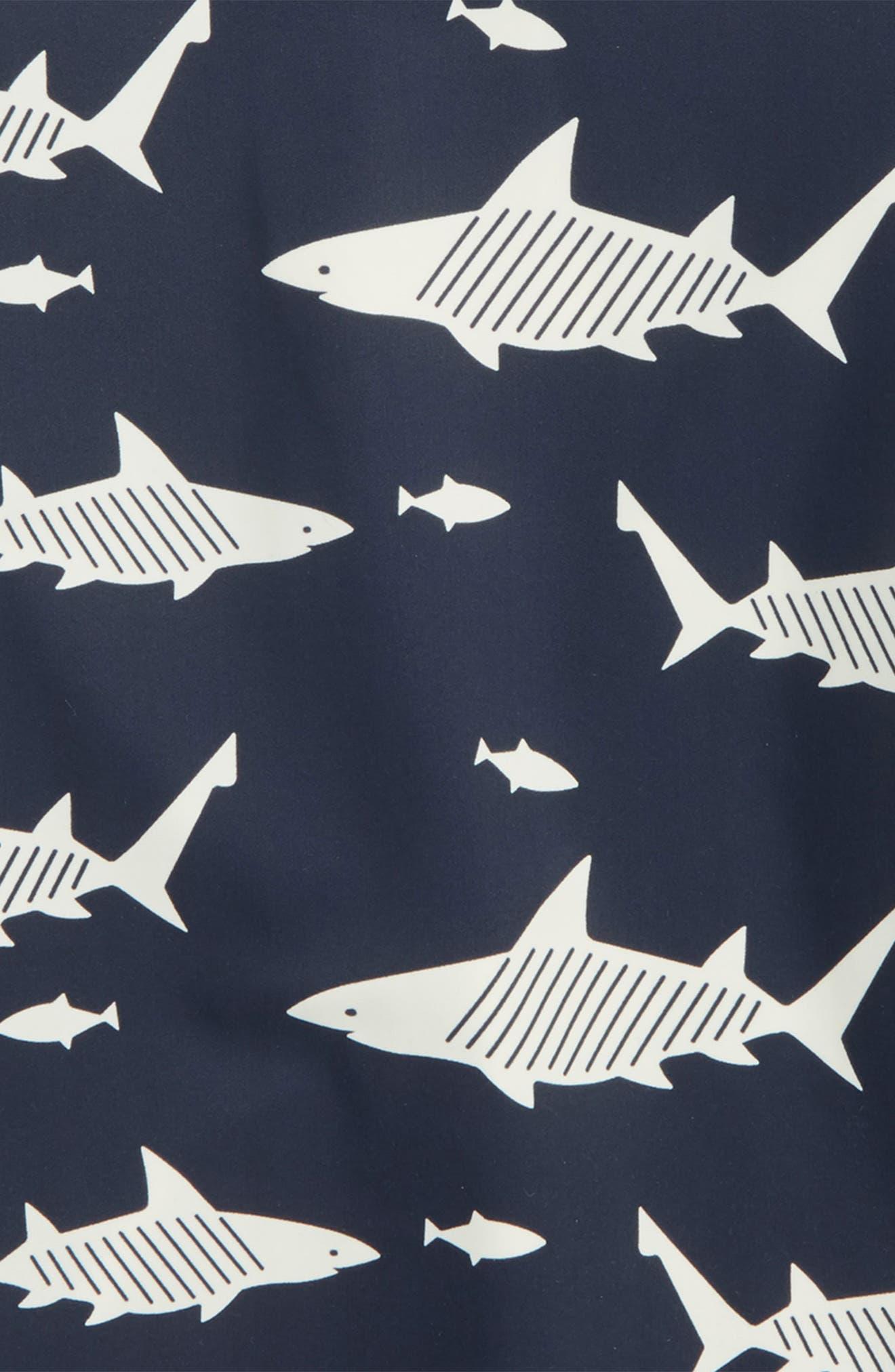 Shark Short Sleeve Rashguard,                             Alternate thumbnail 2, color,                             411