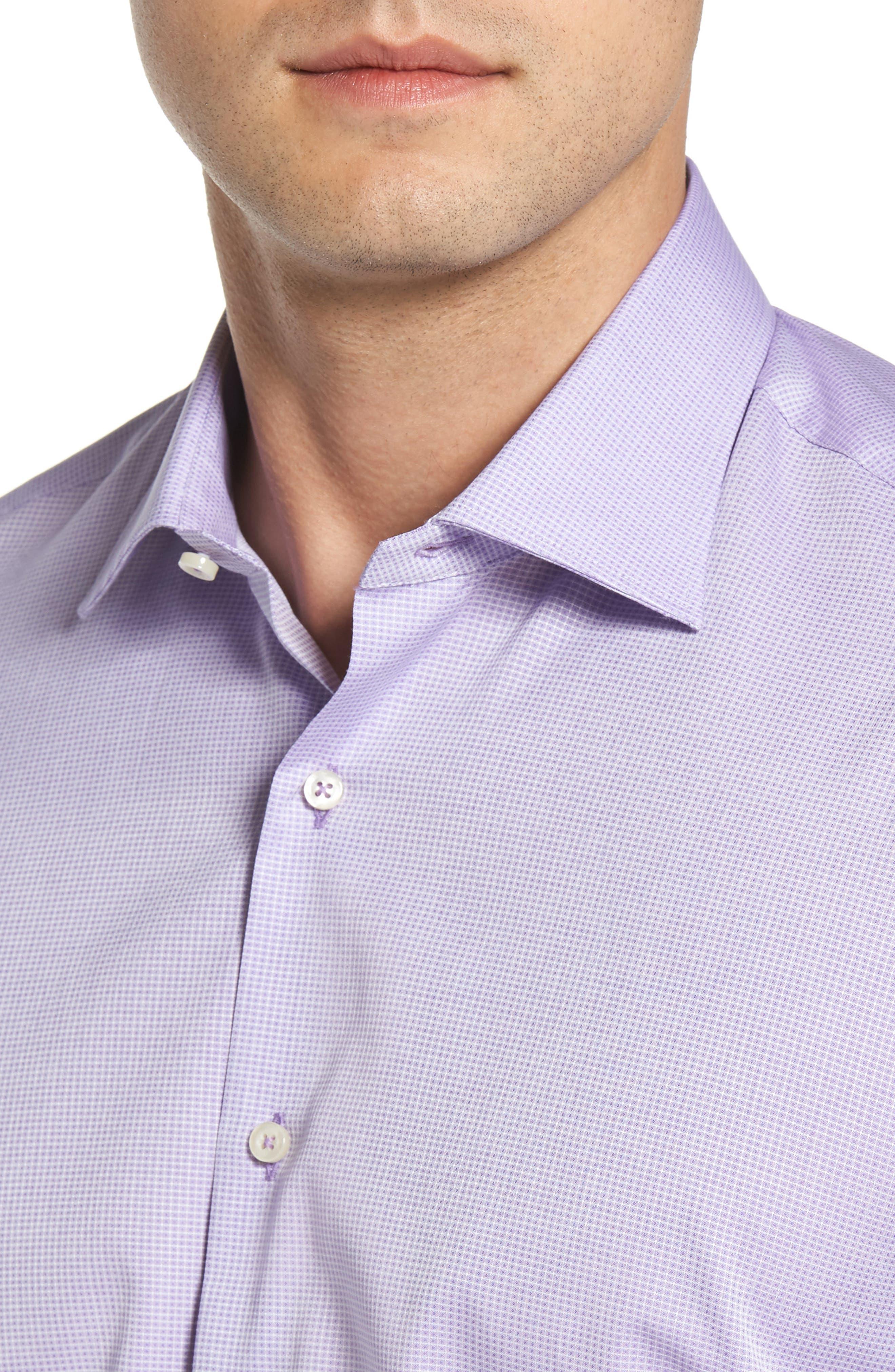 Regular Fit Solid Dress Shirt,                             Alternate thumbnail 2, color,                             500