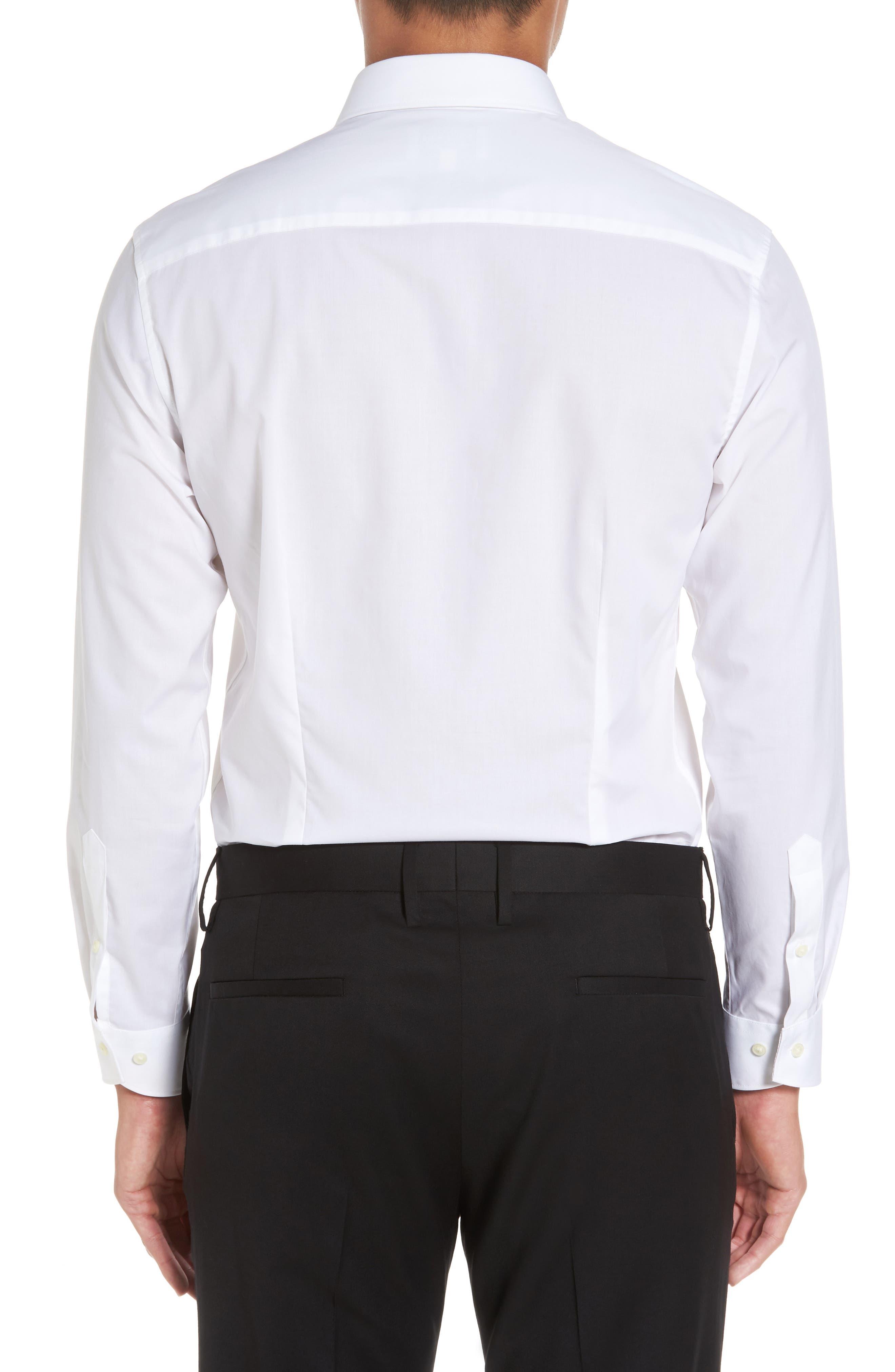 Booker Slim Fit Dress Shirt,                             Alternate thumbnail 2, color,                             110