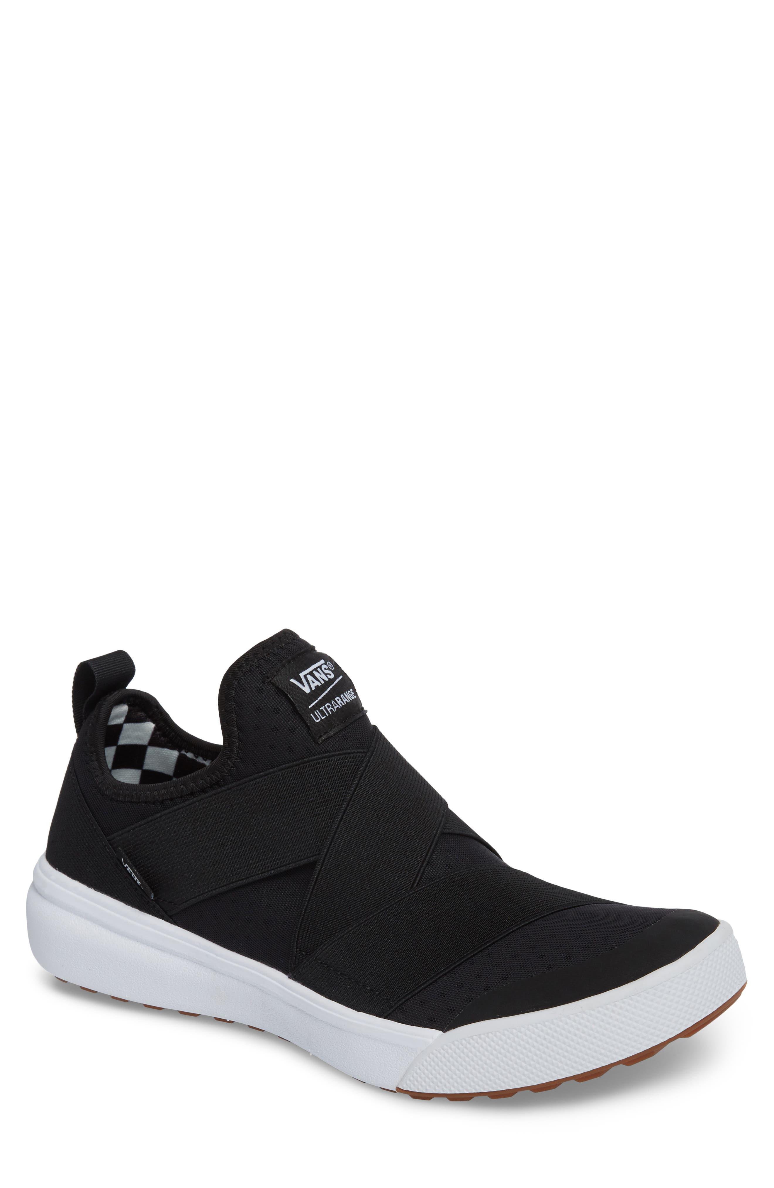UltraRange Gore Slip-On Sneaker,                             Main thumbnail 1, color,                             BLACK