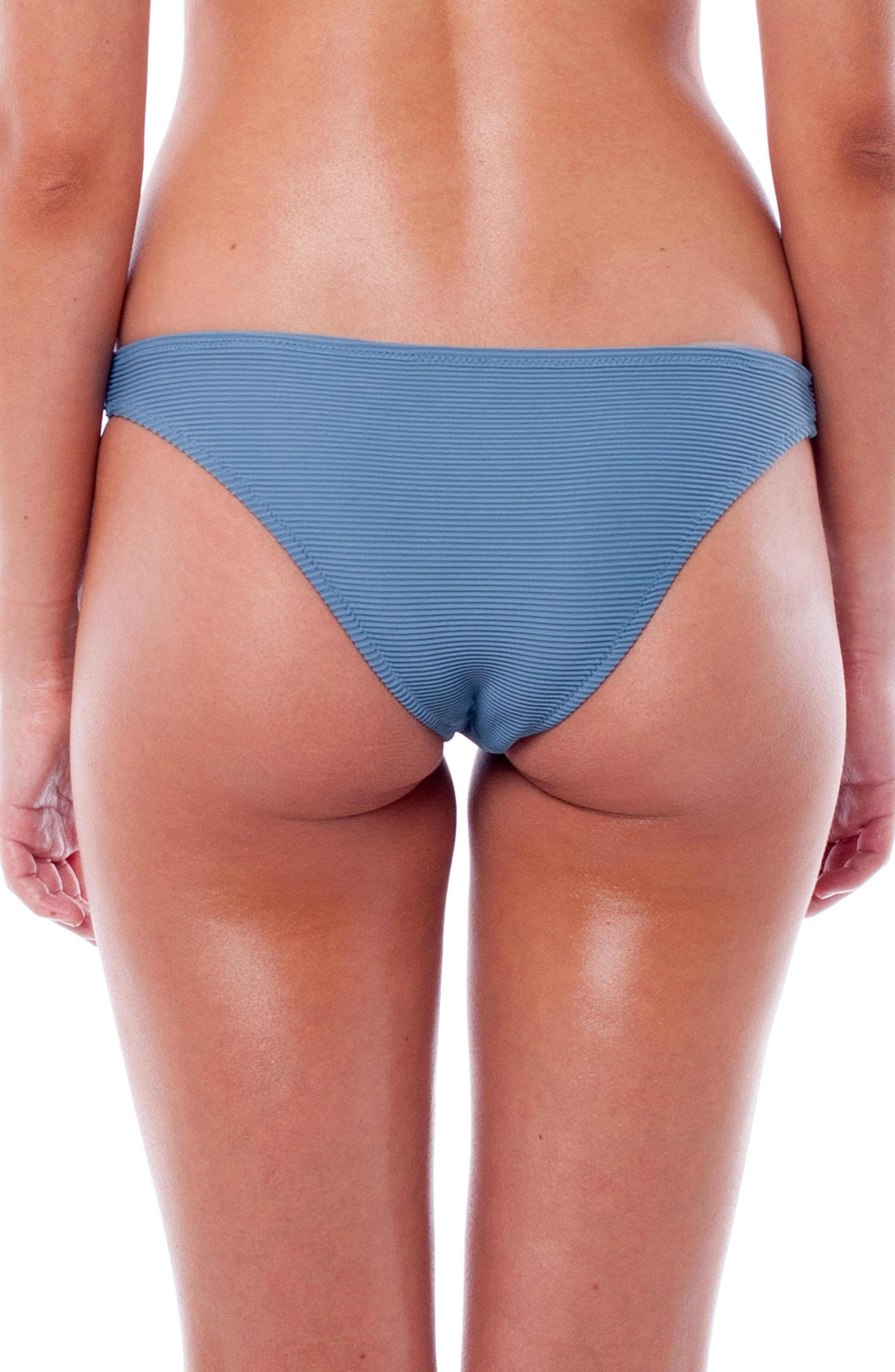 Palm Springs Hipster Bikini Bottoms,                             Alternate thumbnail 2, color,                             STORM