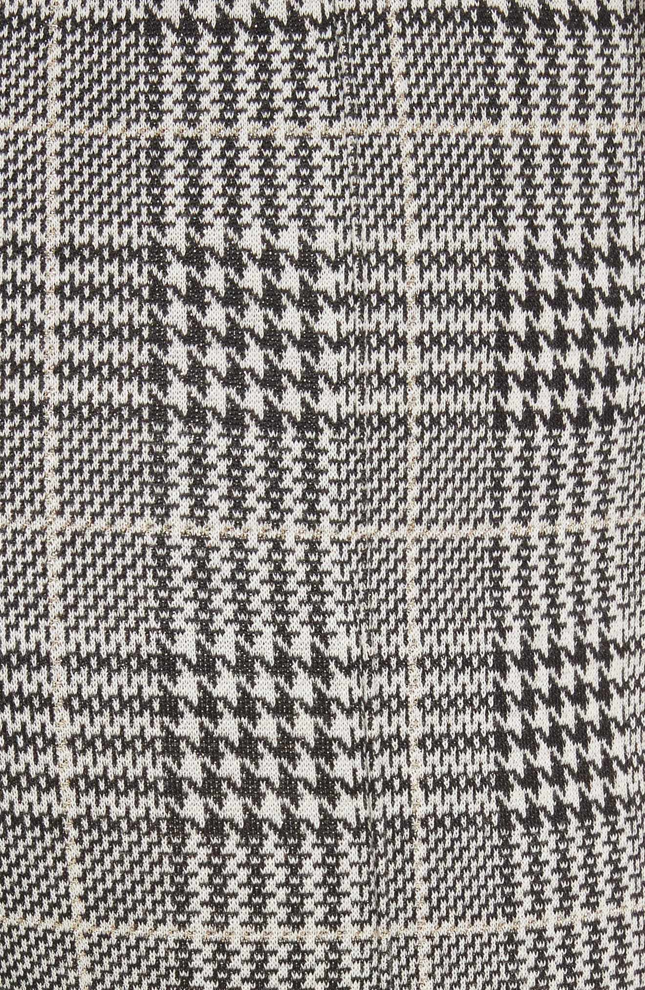 Houndstooth Ankle Skinny Pants,                             Alternate thumbnail 5, color,