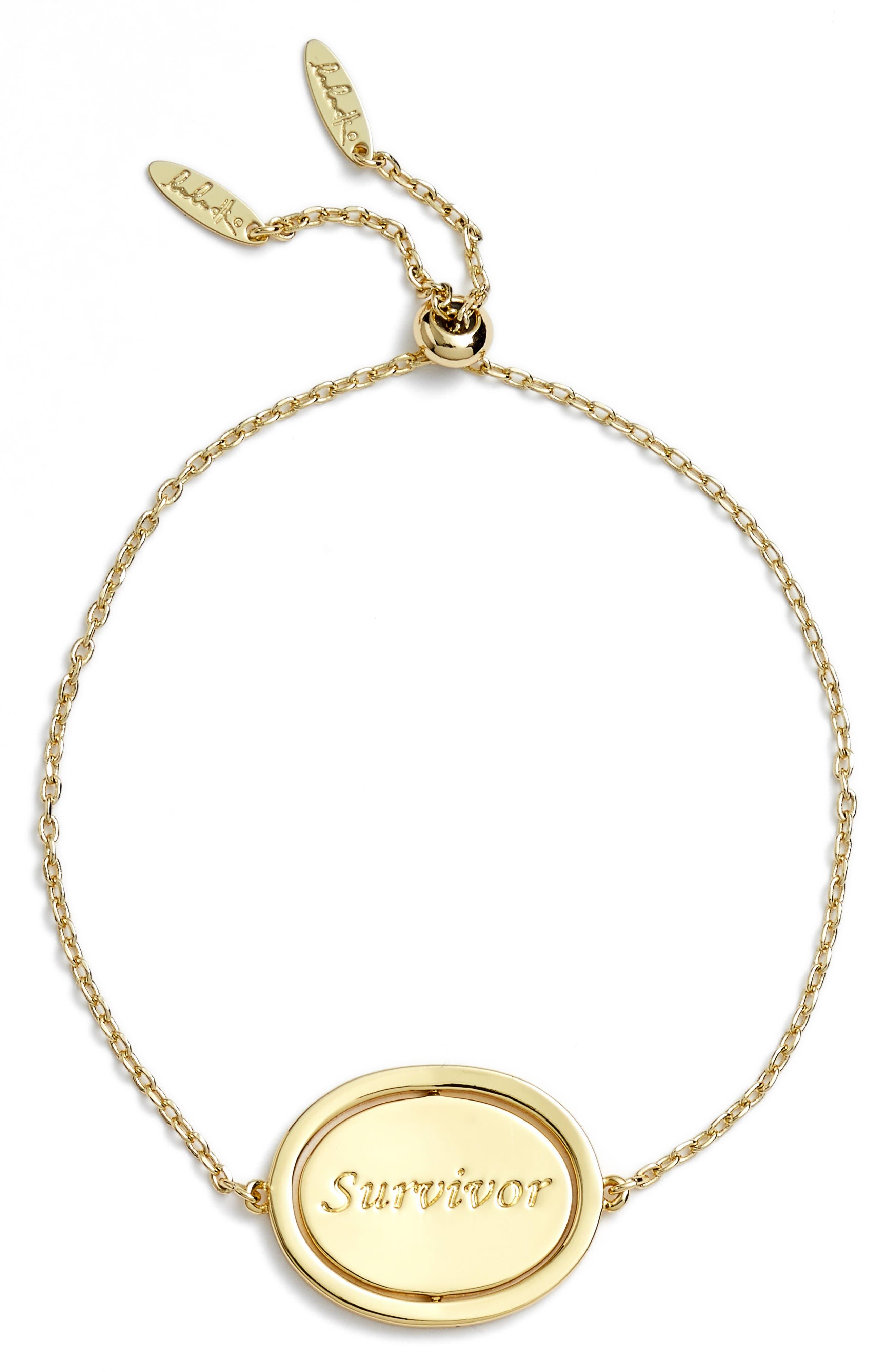 Small Spinning Pendant Bracelet,                             Main thumbnail 6, color,