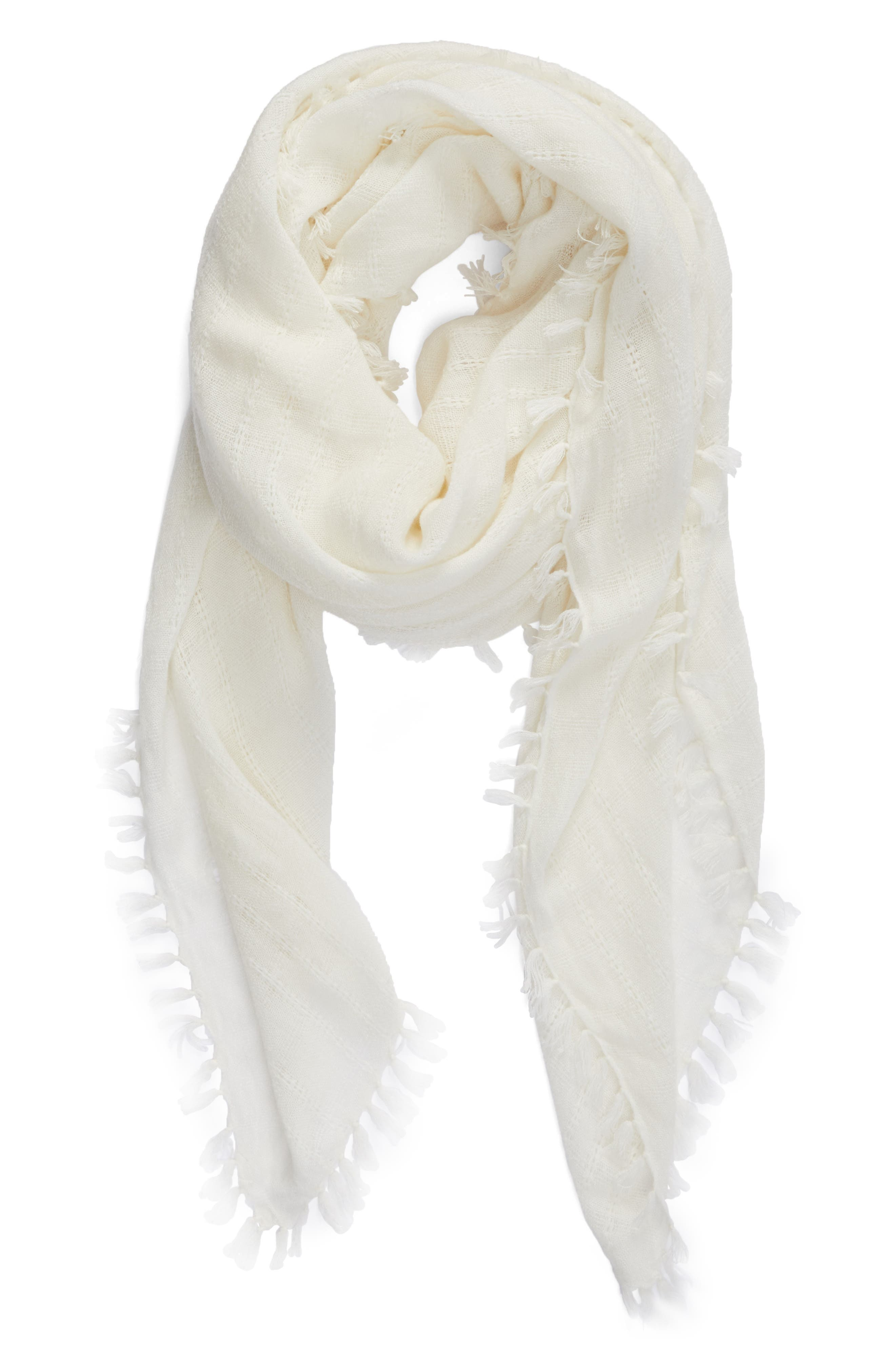 Knotted Tassel Scarf,                             Alternate thumbnail 10, color,