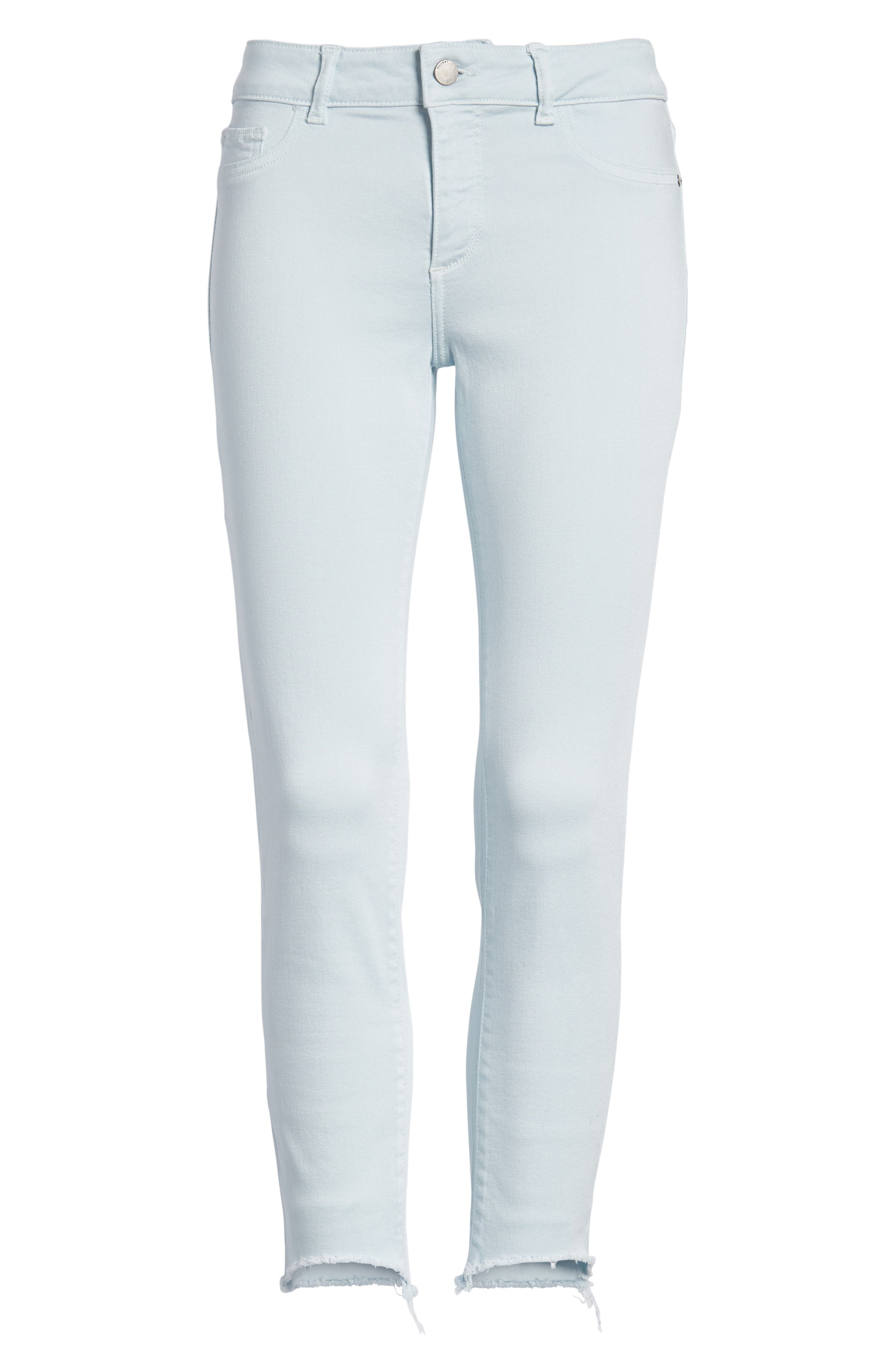 Florence Instasculpt Crop Skinny Jeans,                             Alternate thumbnail 7, color,                             430