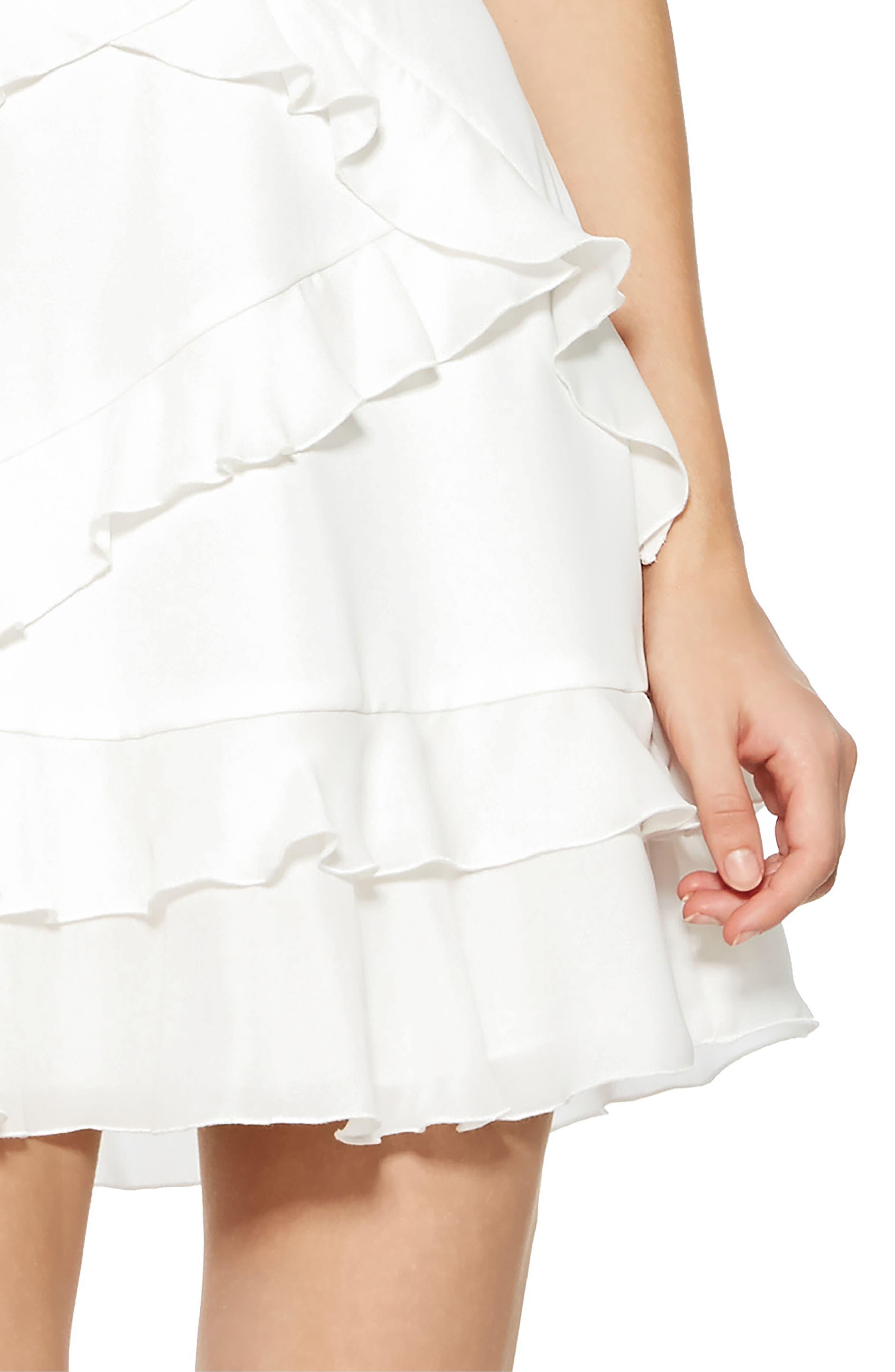 Phoenix Combo Dress,                             Alternate thumbnail 4, color,                             PEARL
