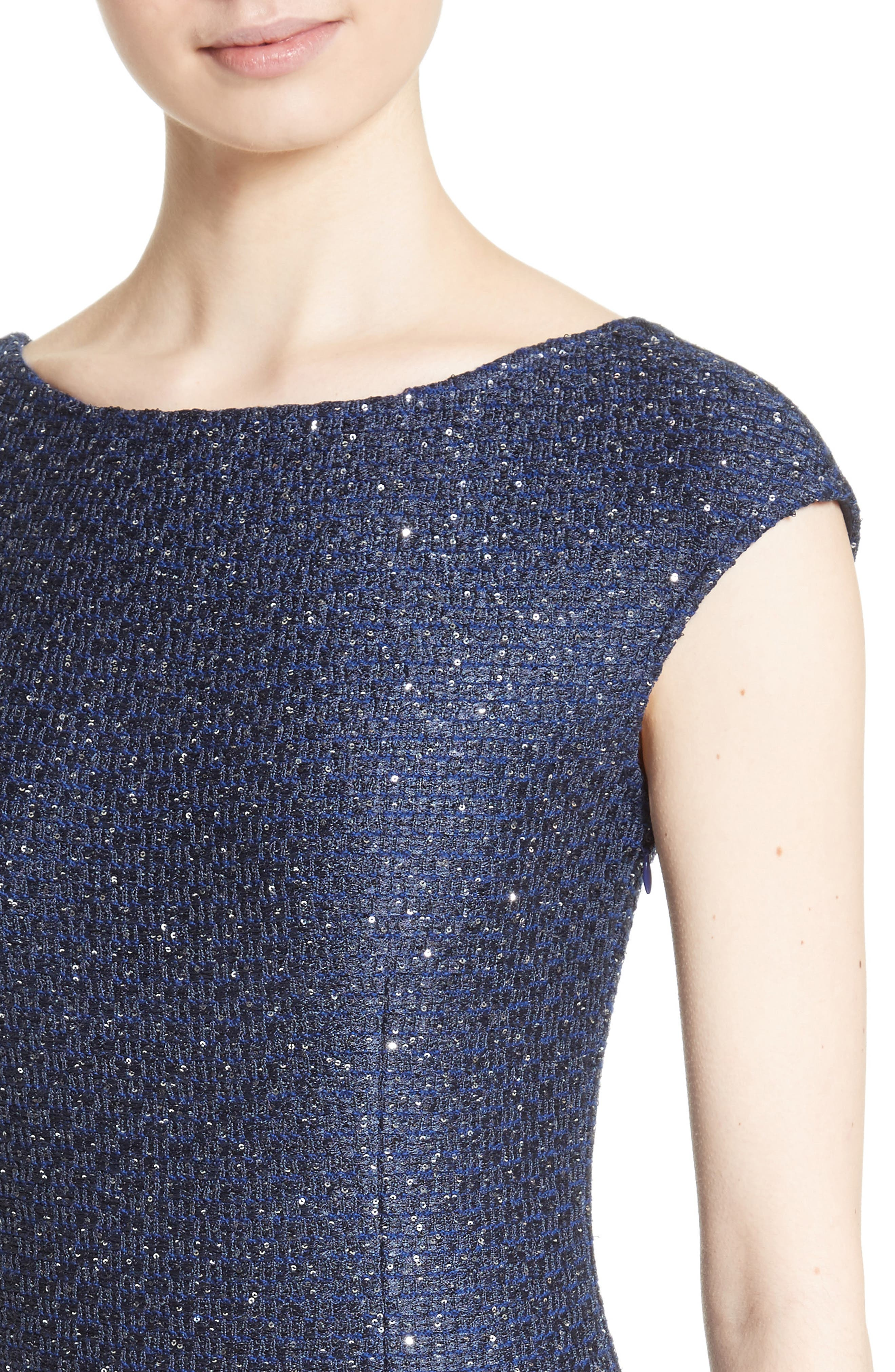 Sequin Gown,                             Alternate thumbnail 4, color,                             420
