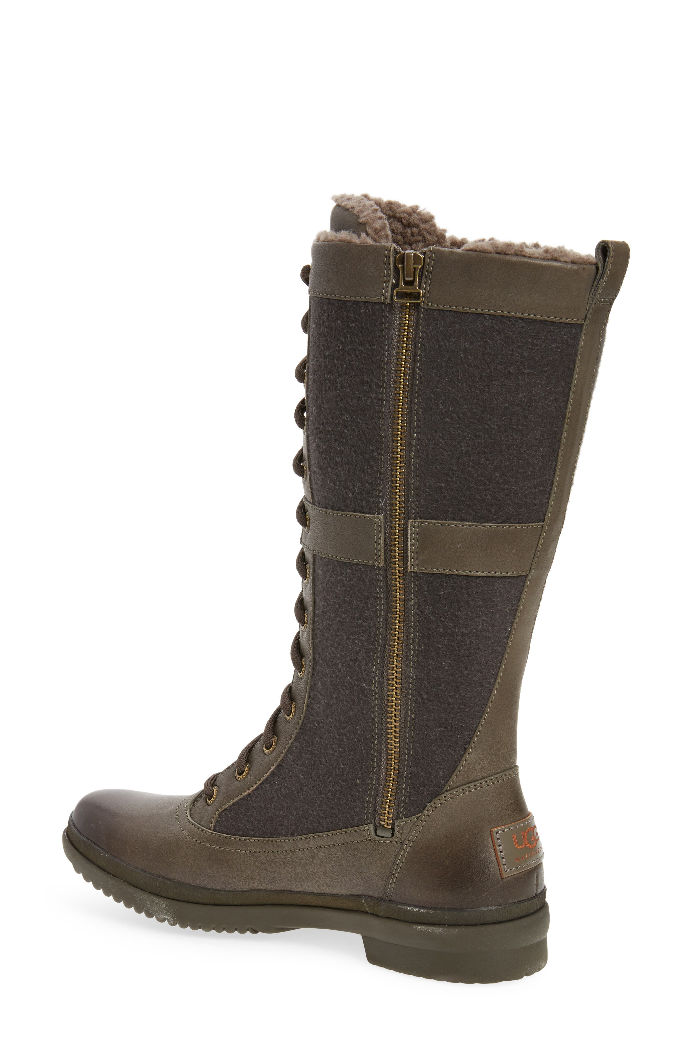 Elvia Waterproof Tall Boot,                             Alternate thumbnail 5, color,