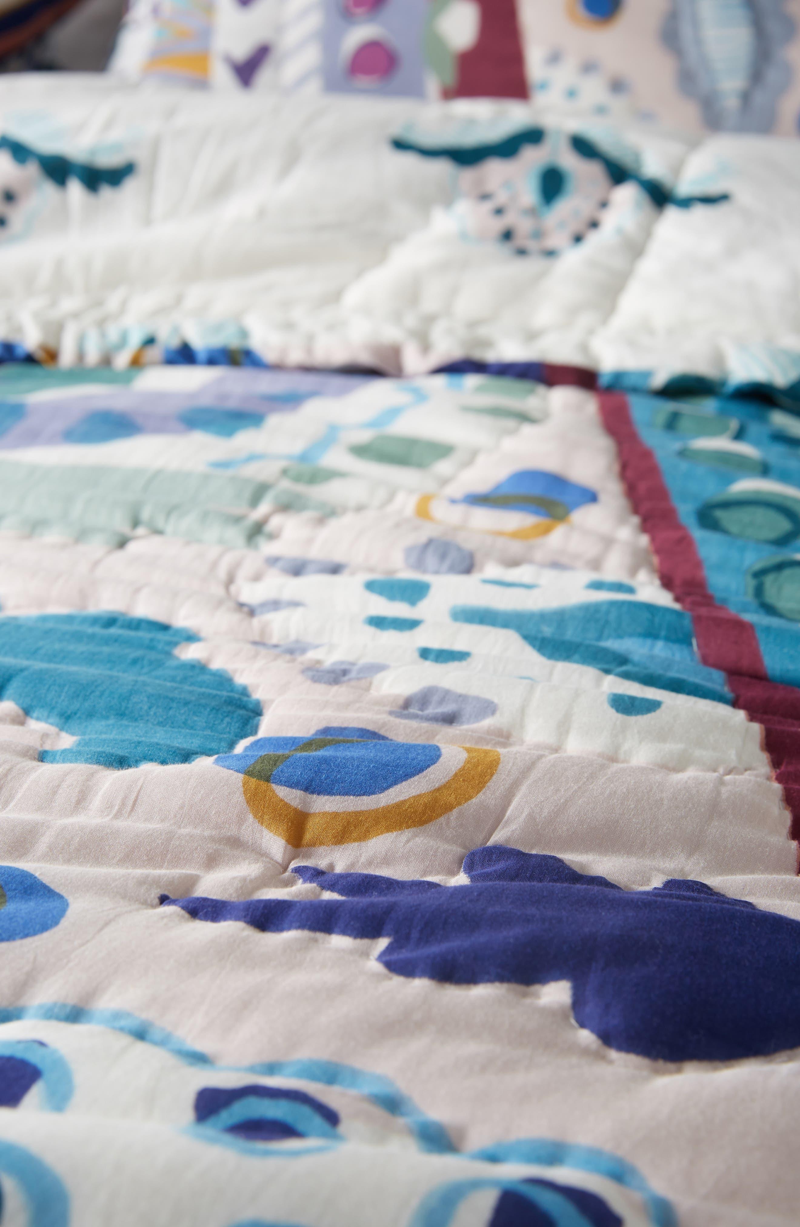 Sunder Quilt,                             Alternate thumbnail 4, color,                             BLUE