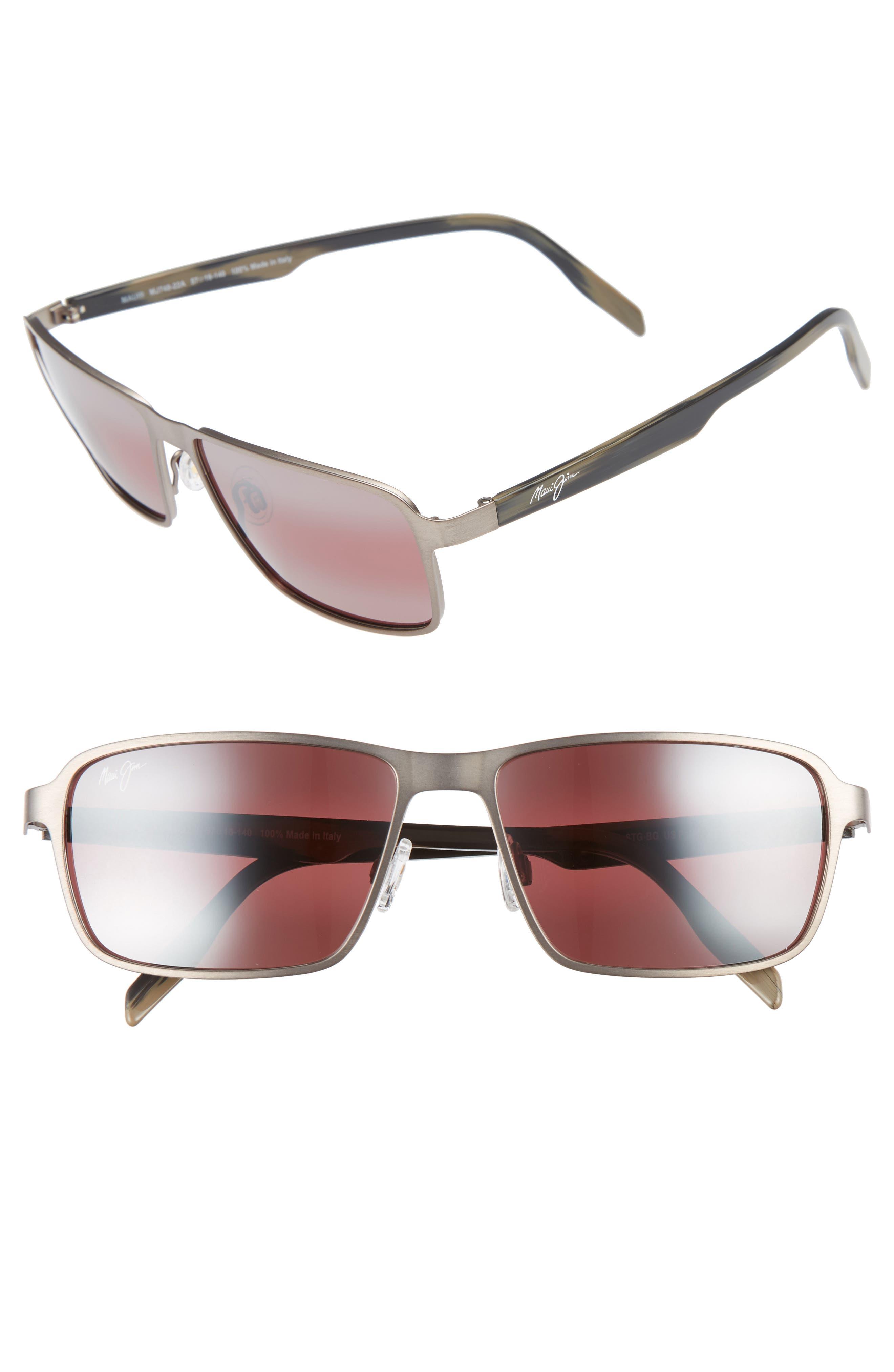 Glass Beach PolarizedPlus<sup>®</sup>2 54mm Sunglasses,                             Main thumbnail 1, color,                             BRUSHED SAND