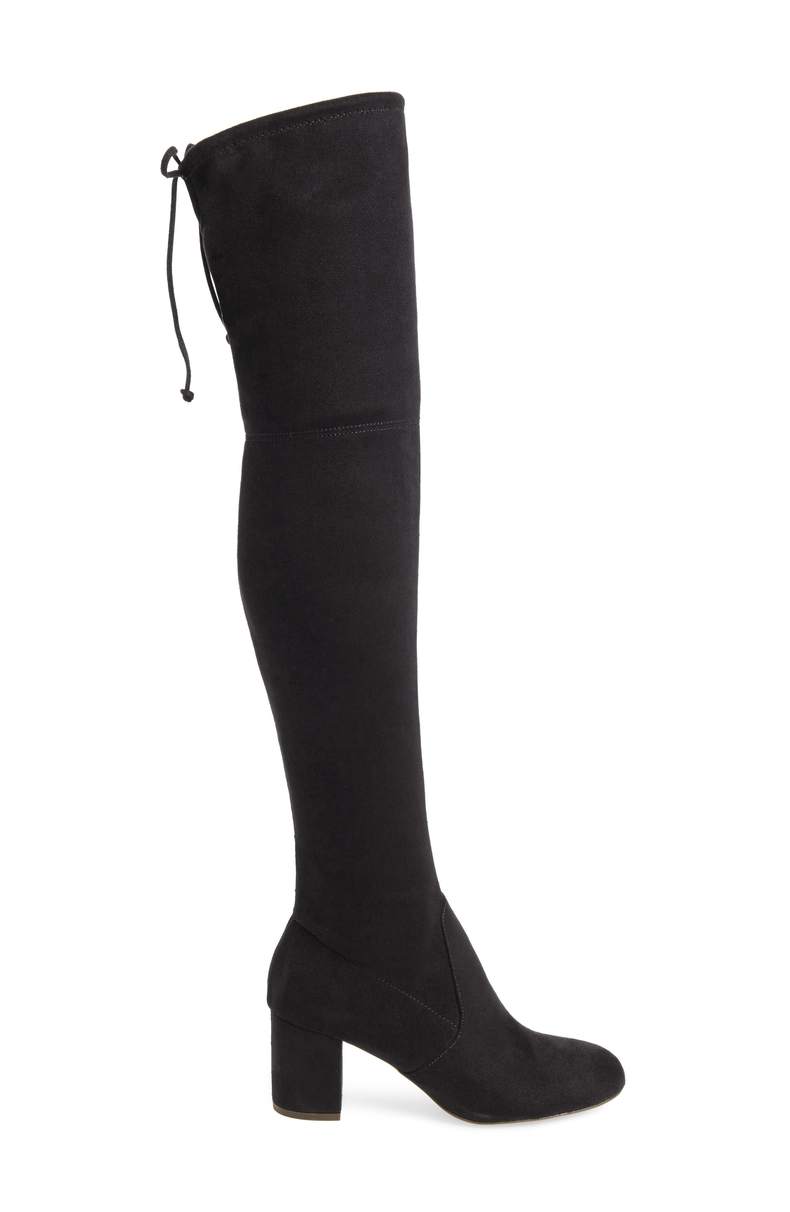 Owen Over the Knee Boot,                             Alternate thumbnail 3, color,                             001