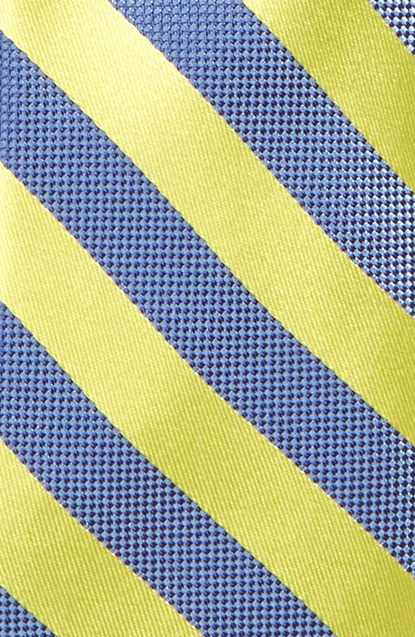 Stripe Silk Tie,                             Alternate thumbnail 2, color,                             736