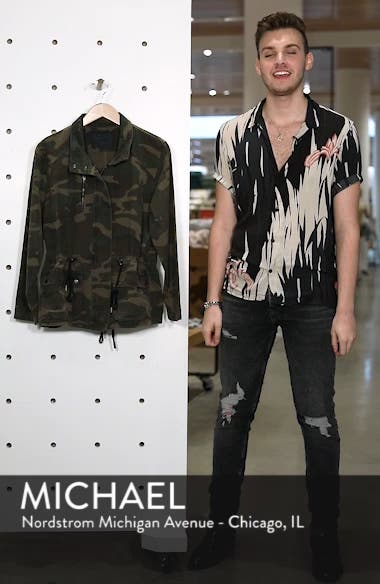 Camo Print Army Jacket, sales video thumbnail