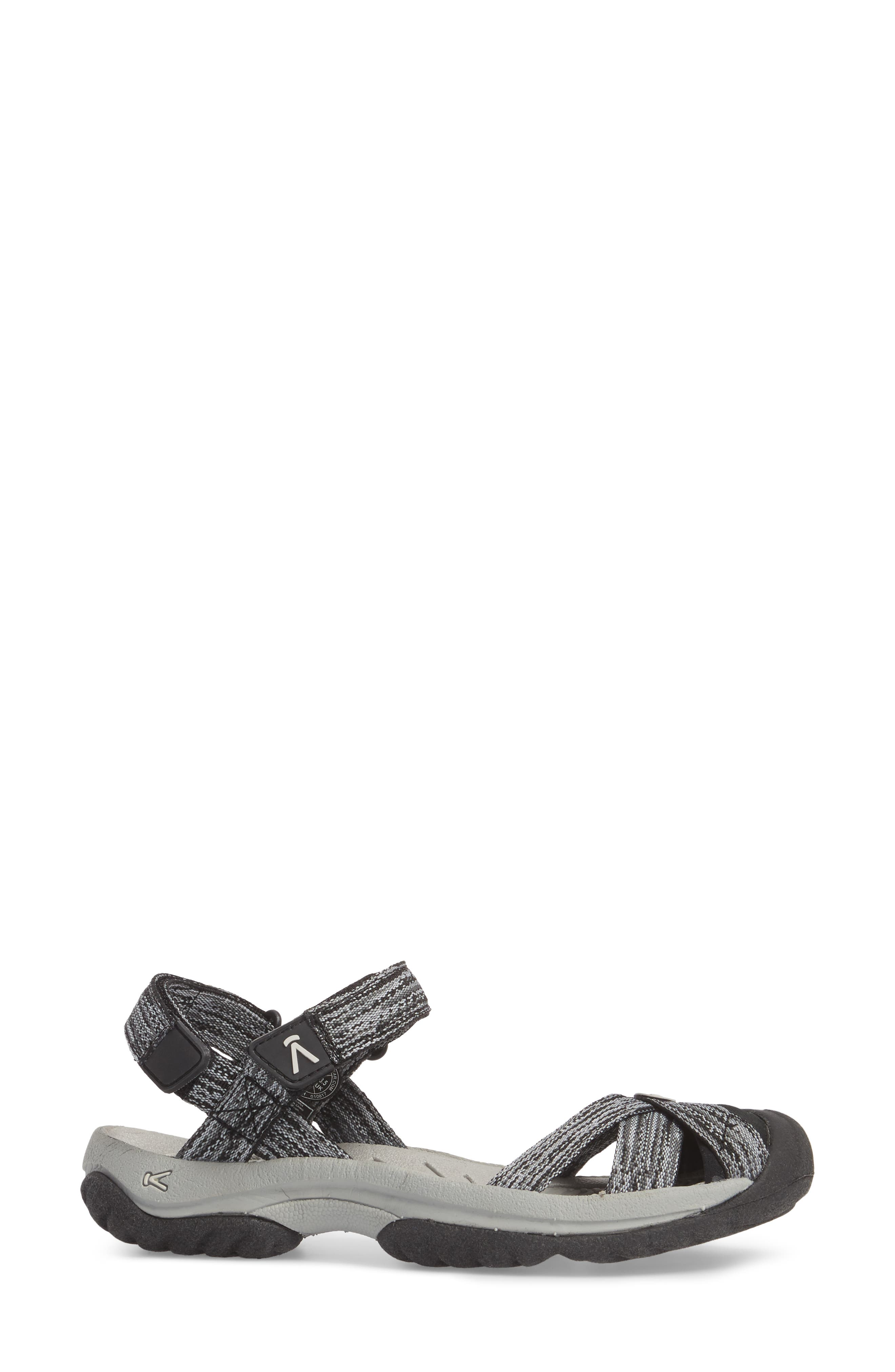 Bali Sandal,                             Alternate thumbnail 3, color,                             NEUTRAL GRAY/ BLACK