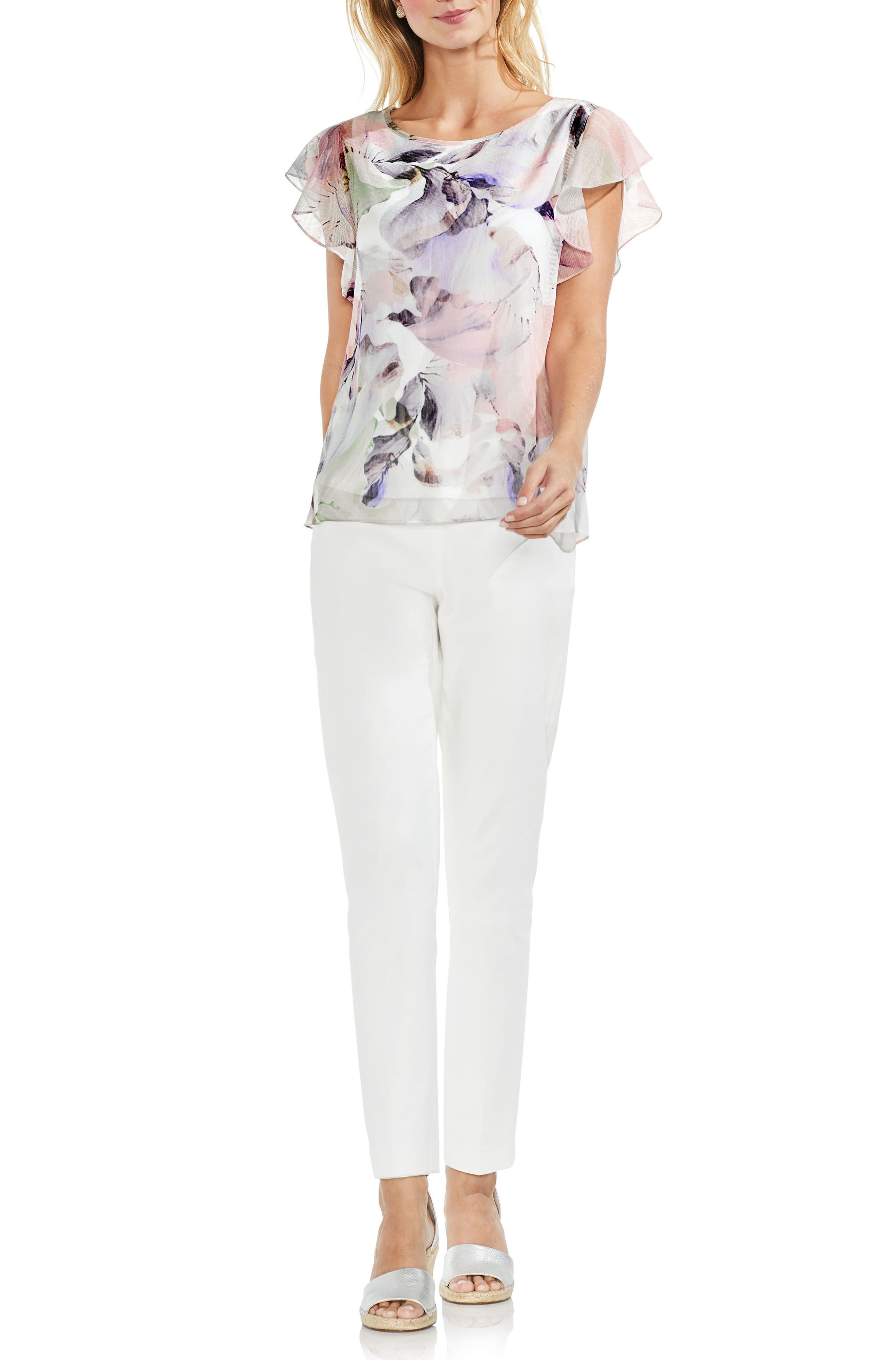 Diffused Bloom Blouse,                             Alternate thumbnail 3, color,                             103