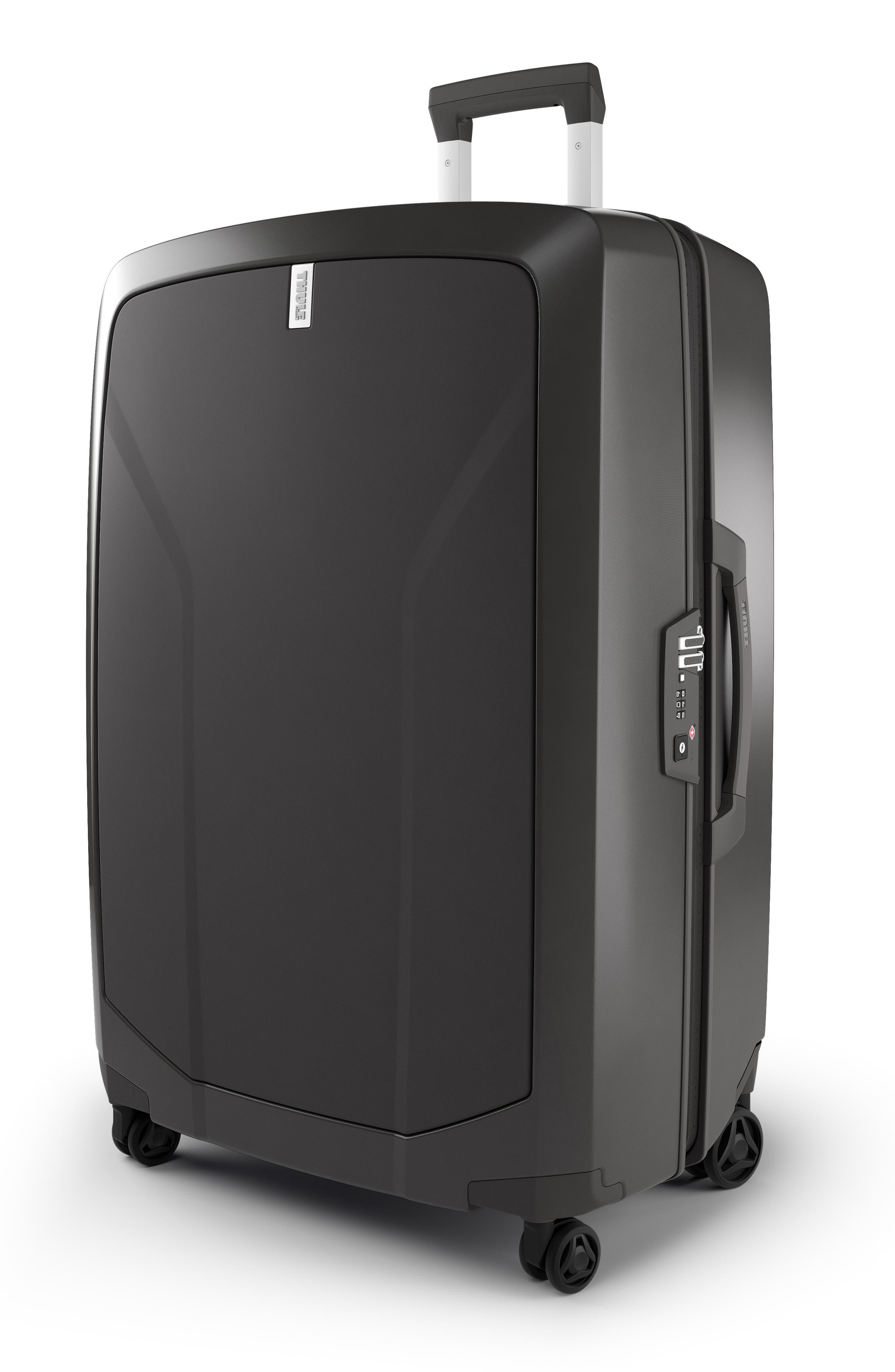 THULE,                             Revolve 30-Inch Spinner Suitcase,                             Alternate thumbnail 3, color,                             RAVEN GRAY