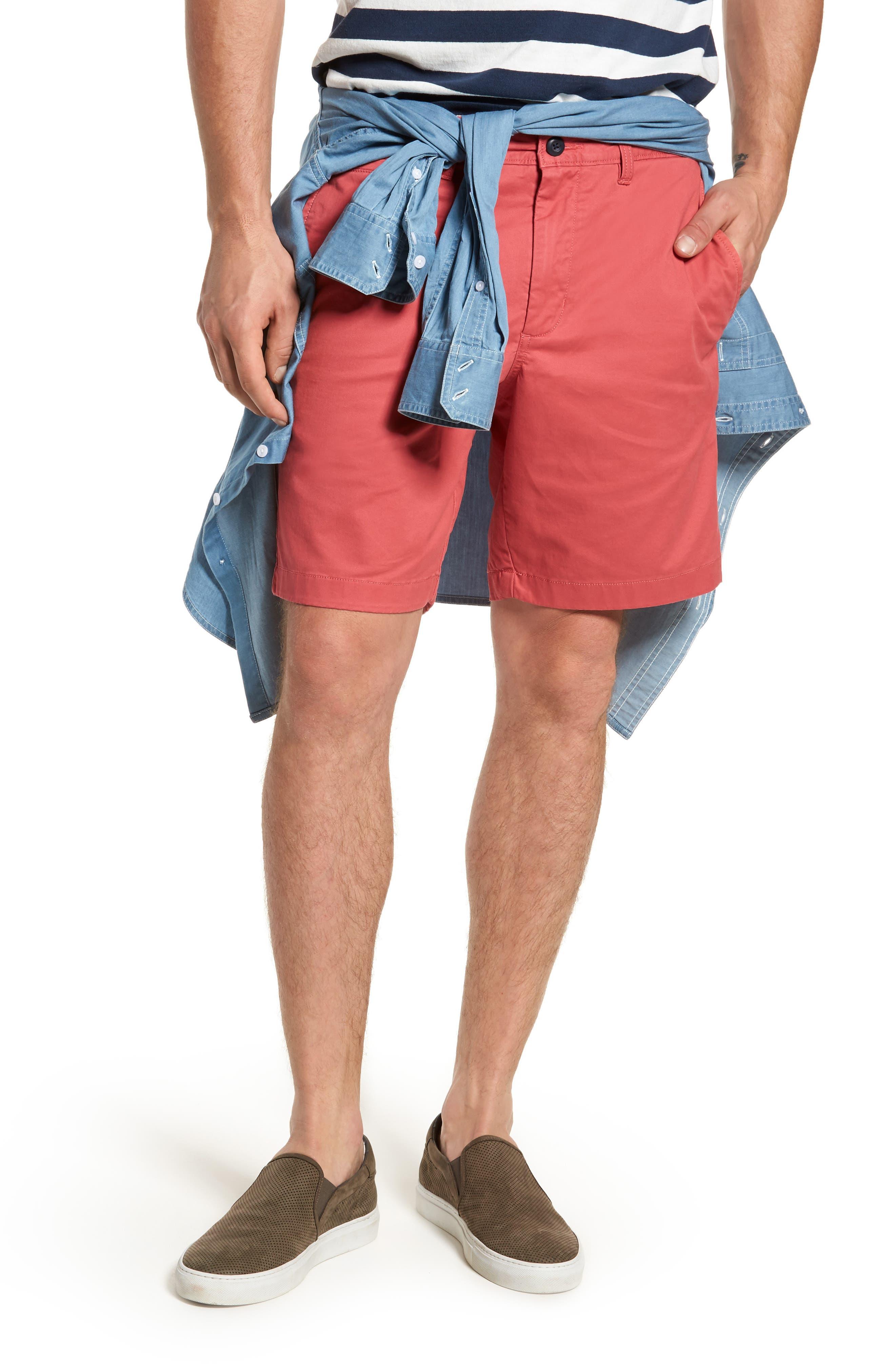 Ballard Slim Fit Stretch Chino 9-Inch Shorts,                             Main thumbnail 11, color,
