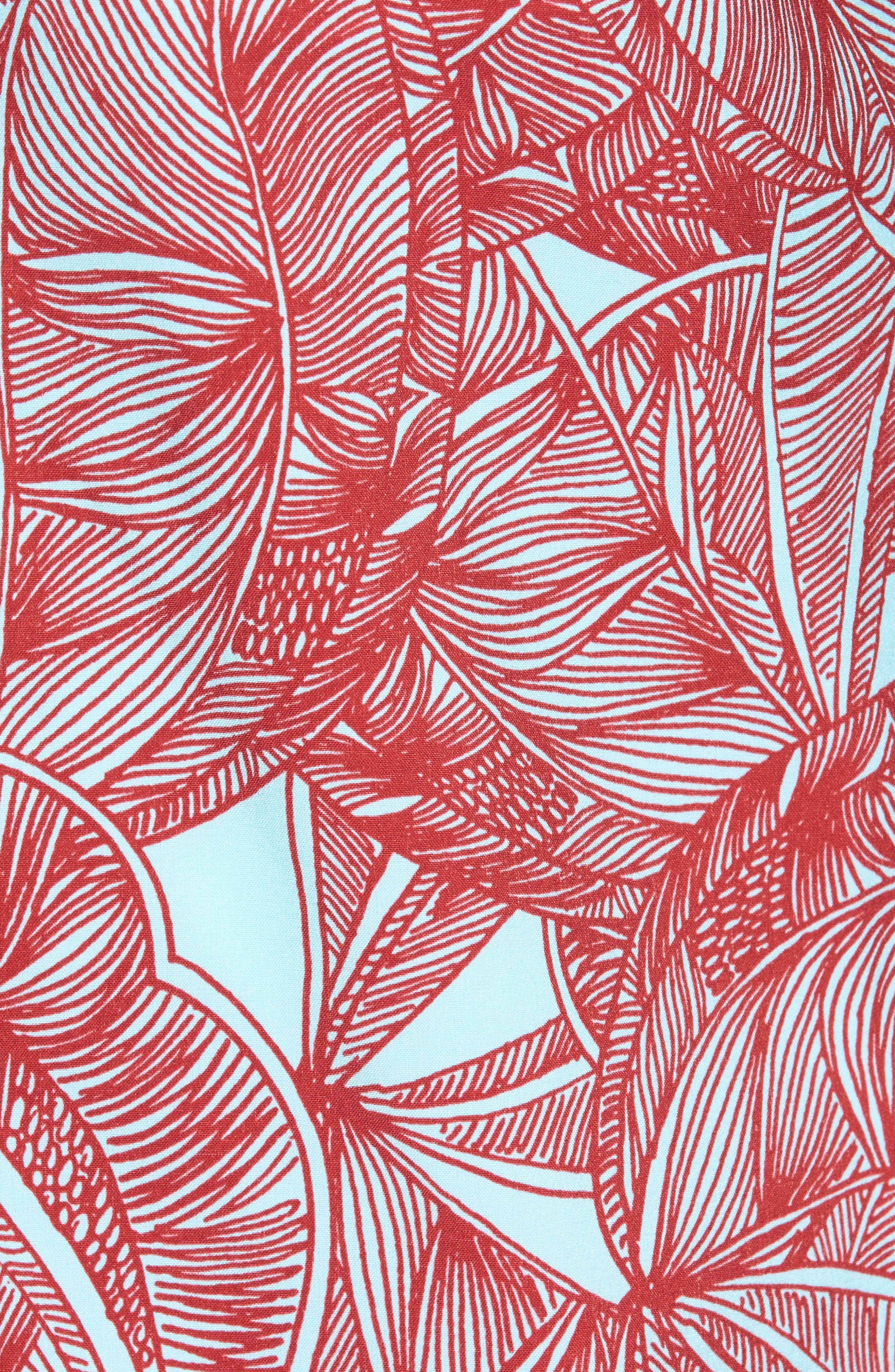 Print Woven Shirt,                             Alternate thumbnail 5, color,                             400