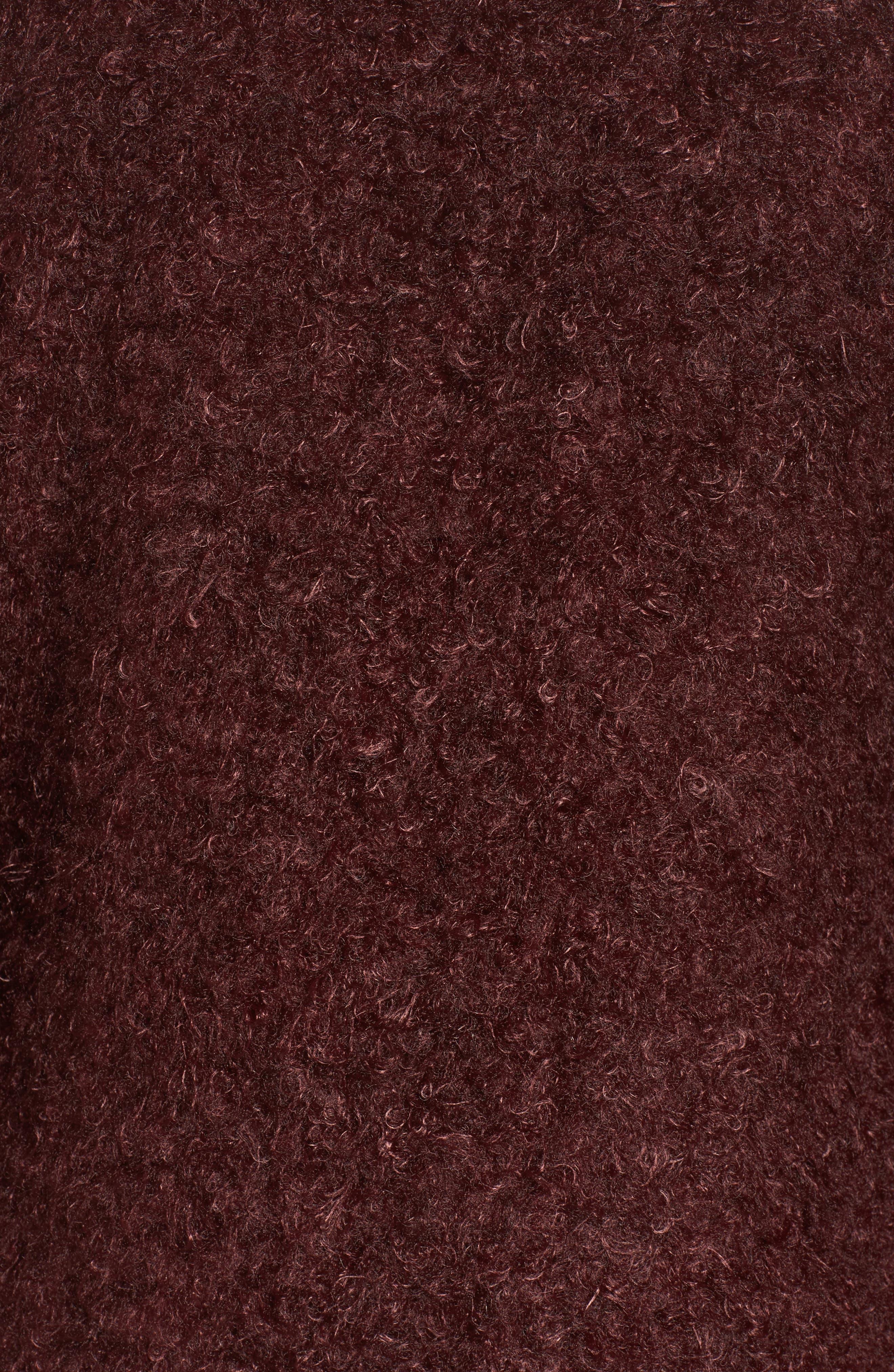 Reversible Faux Fur Coat,                             Alternate thumbnail 6, color,                             602