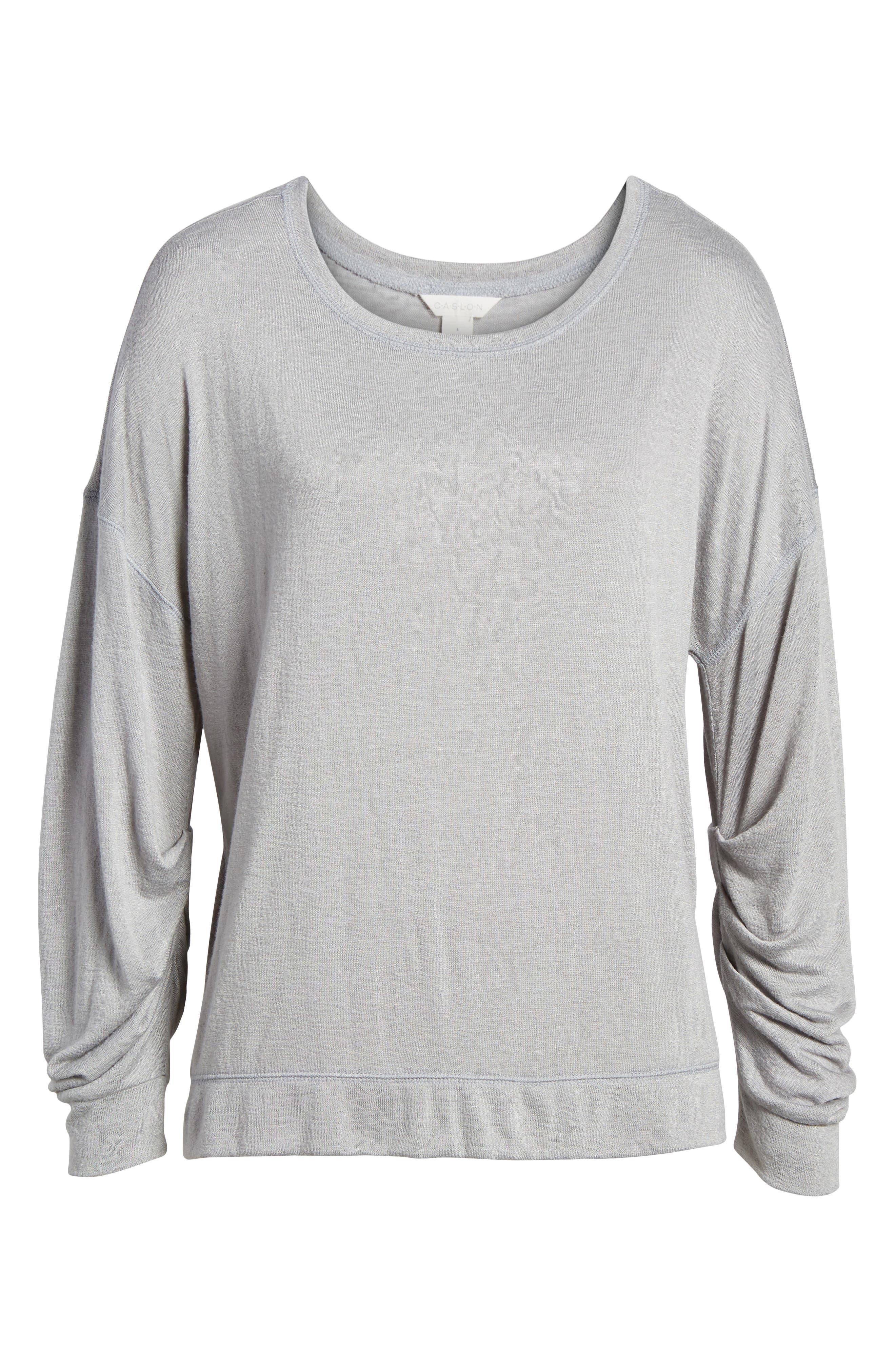 Tuck Sleeve Sweatshirt,                             Alternate thumbnail 33, color,