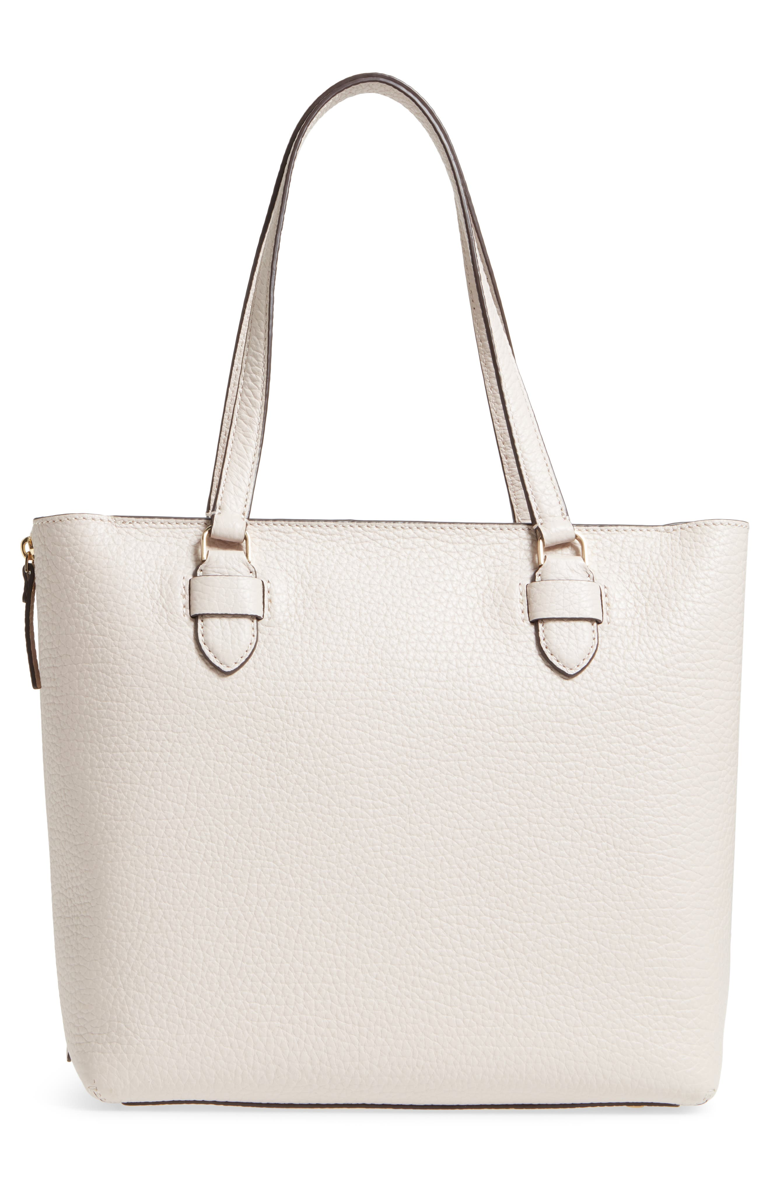 carter street - selena leather tote,                             Alternate thumbnail 6, color,