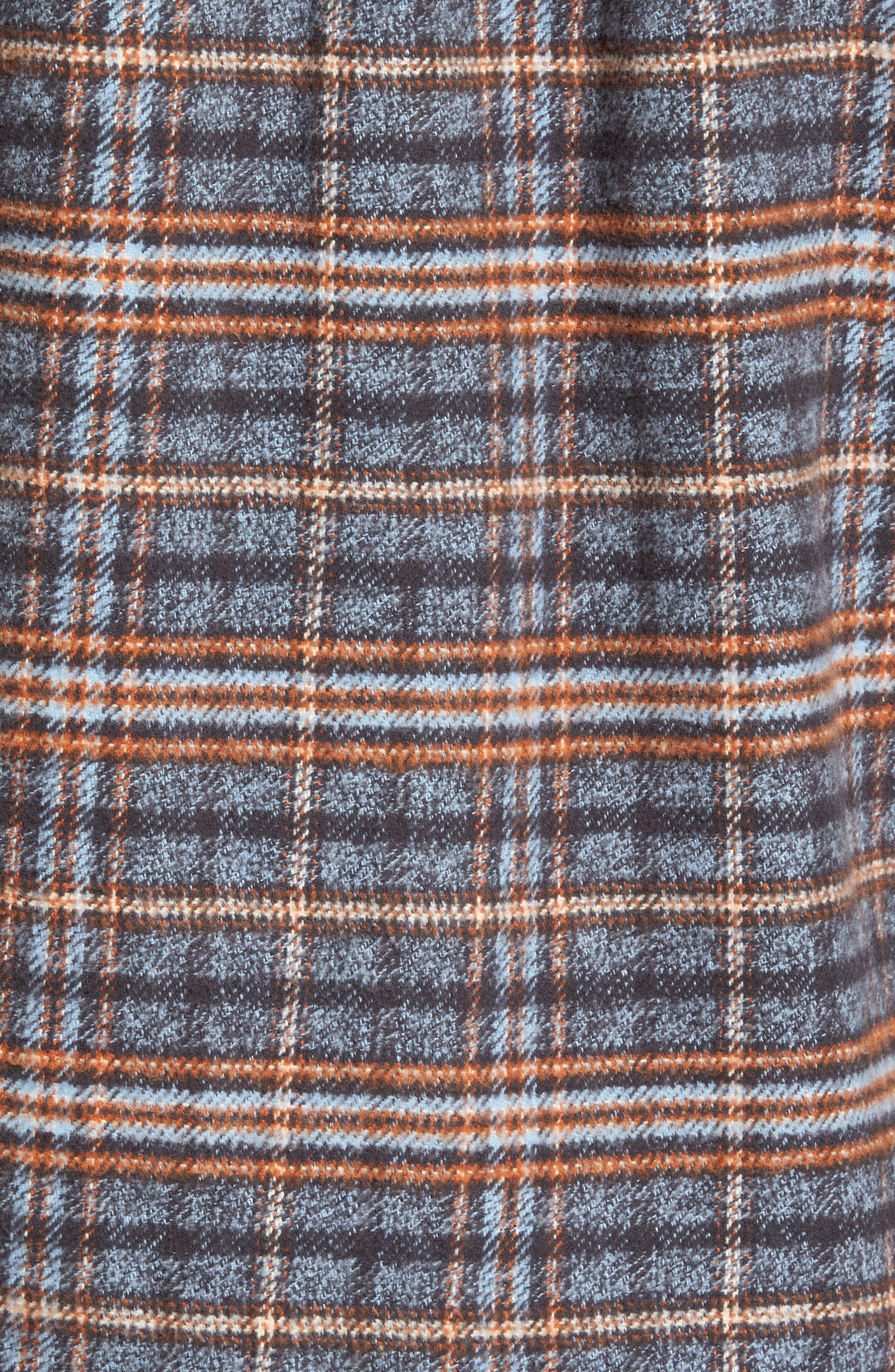 Brayden Regular Fit Plaid Flannel Shirt,                             Alternate thumbnail 9, color,