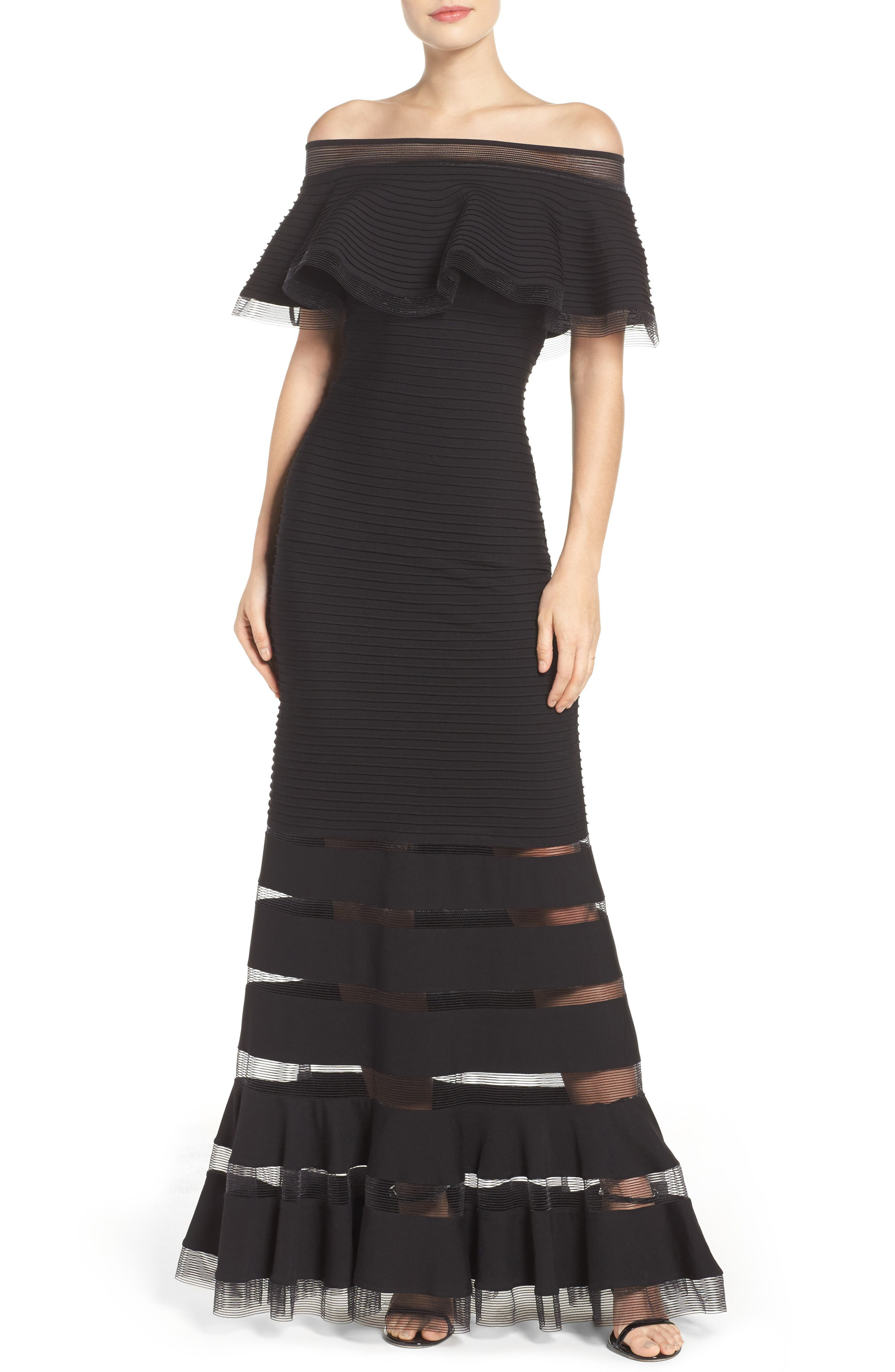 Jersey Gown,                             Main thumbnail 1, color,                             001