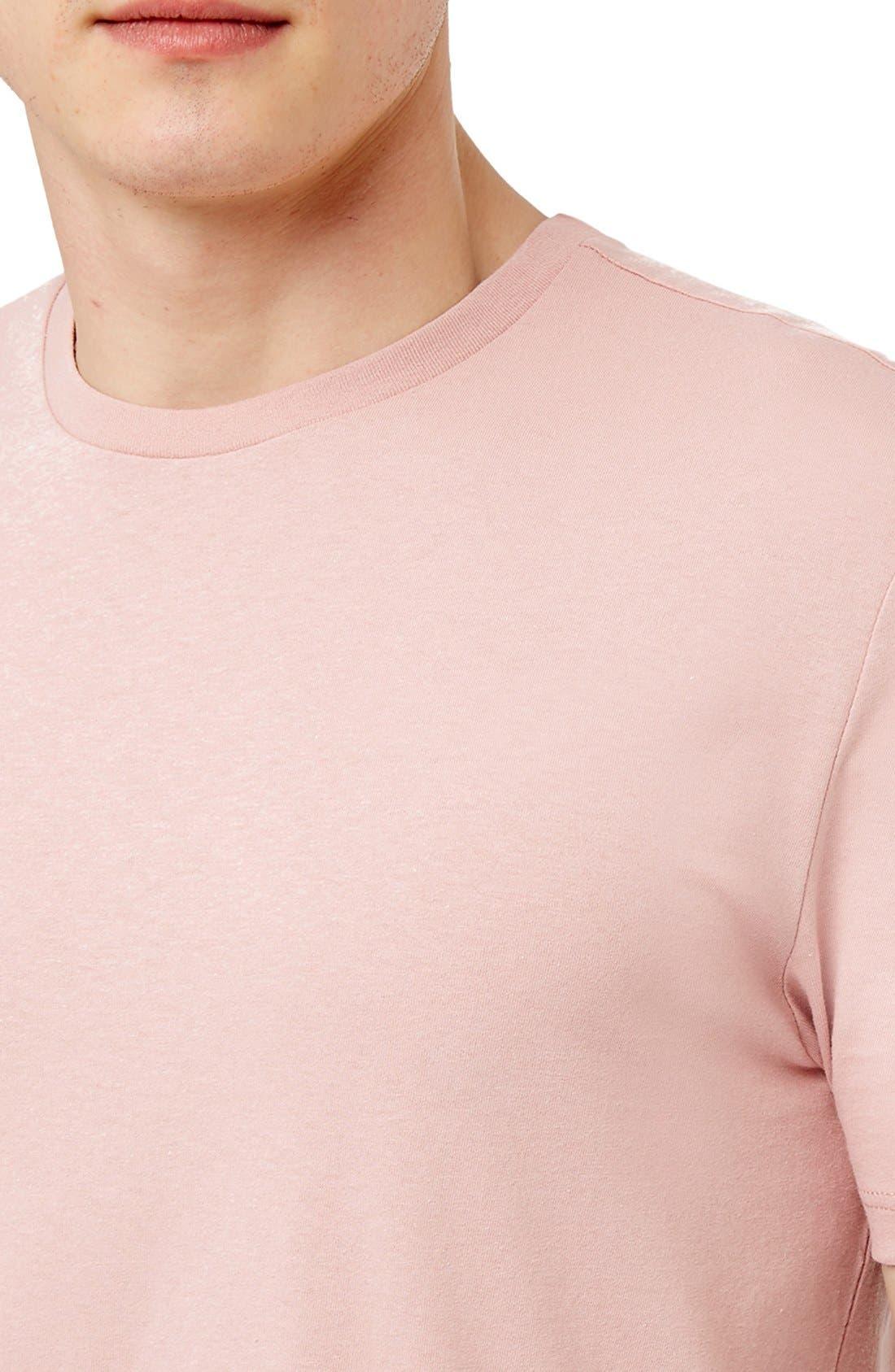 Slim Fit Crewneck T-Shirt,                             Alternate thumbnail 184, color,