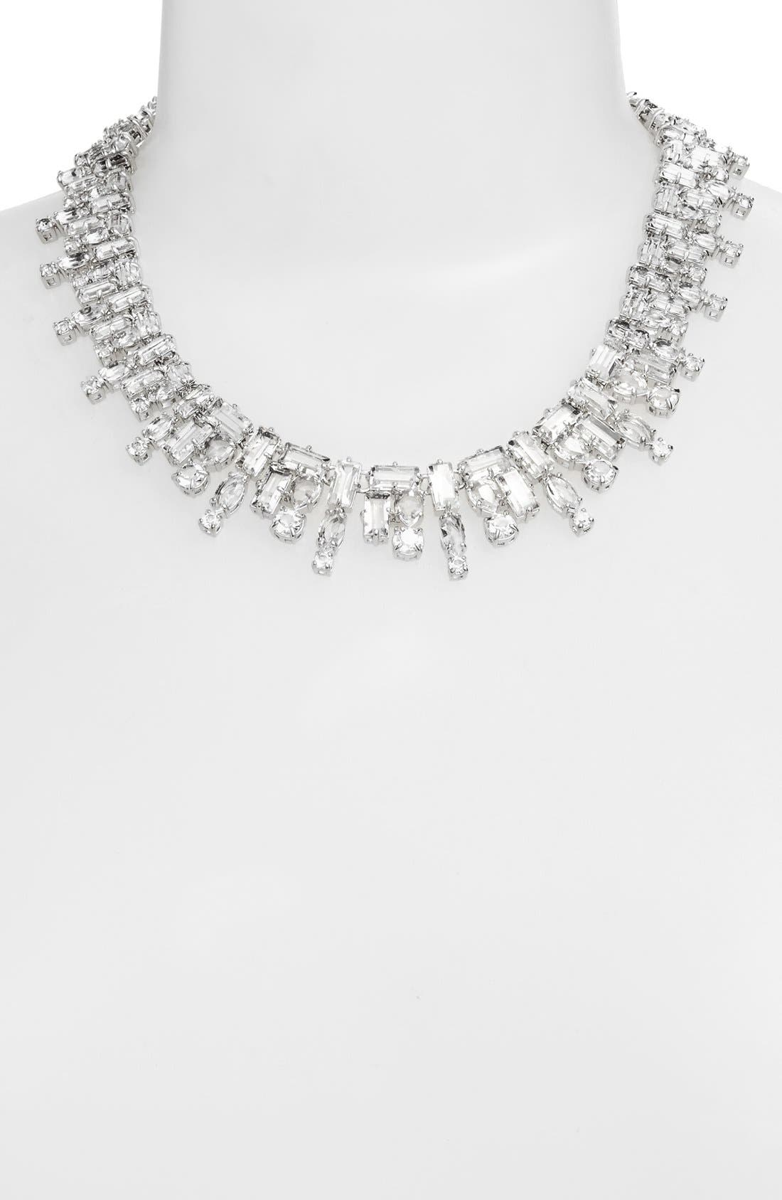 KATE SPADE NEW YORK,                             'catching light' collar necklace,                             Alternate thumbnail 2, color,                             710