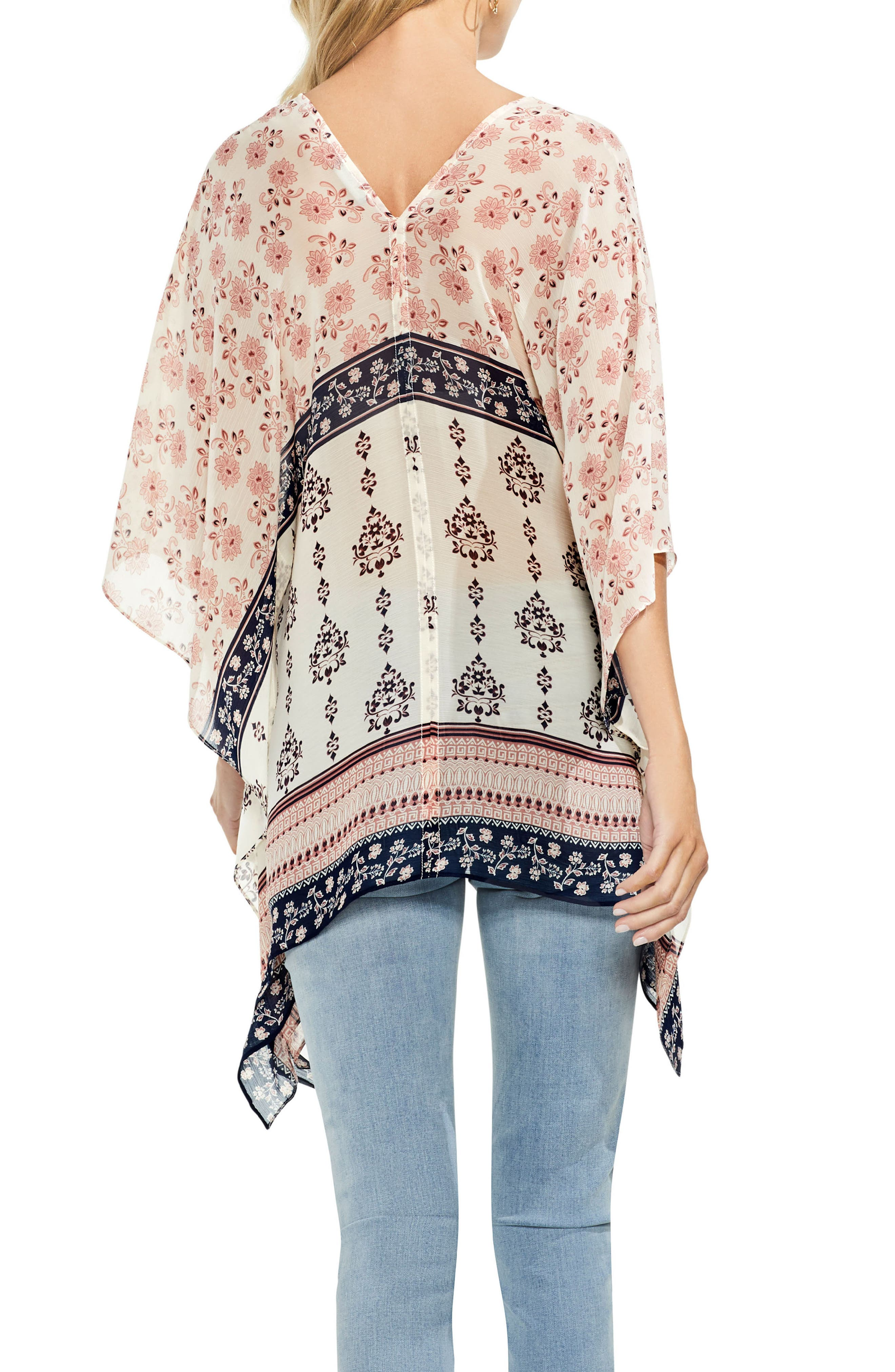 Wildflower Poncho,                             Alternate thumbnail 2, color,