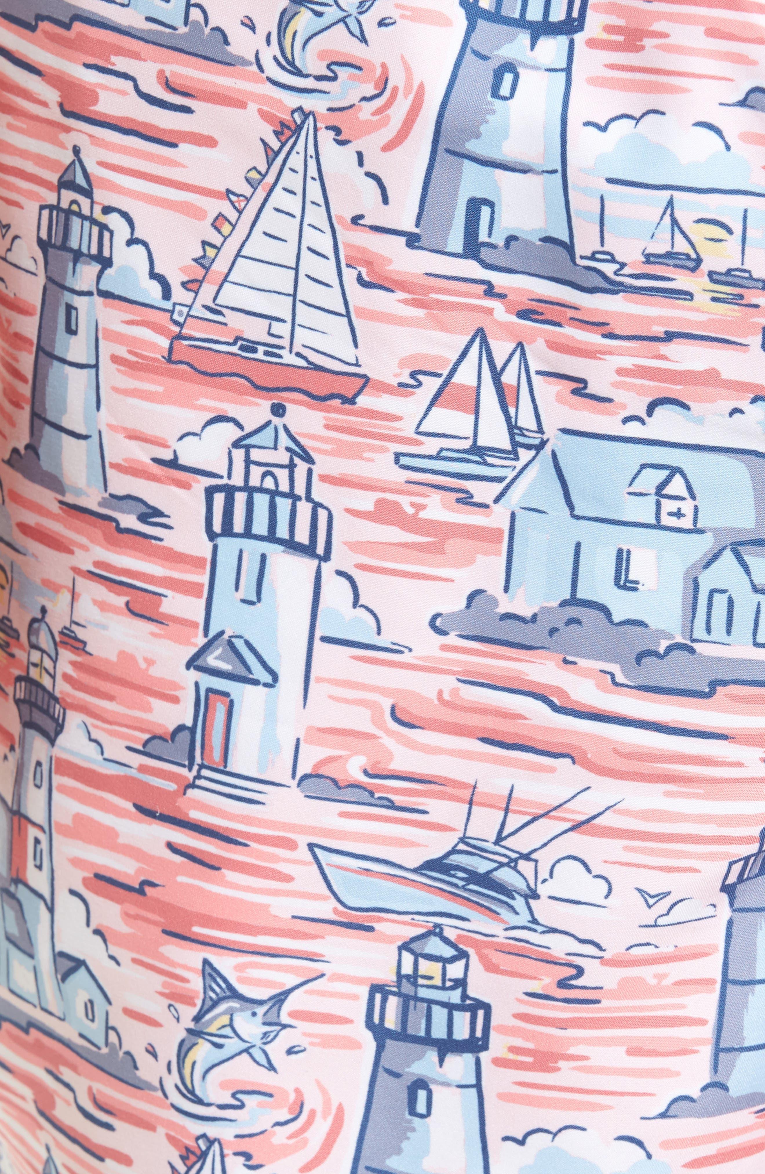 Lighthouse Chappy Swim Trunks,                             Alternate thumbnail 5, color,                             686