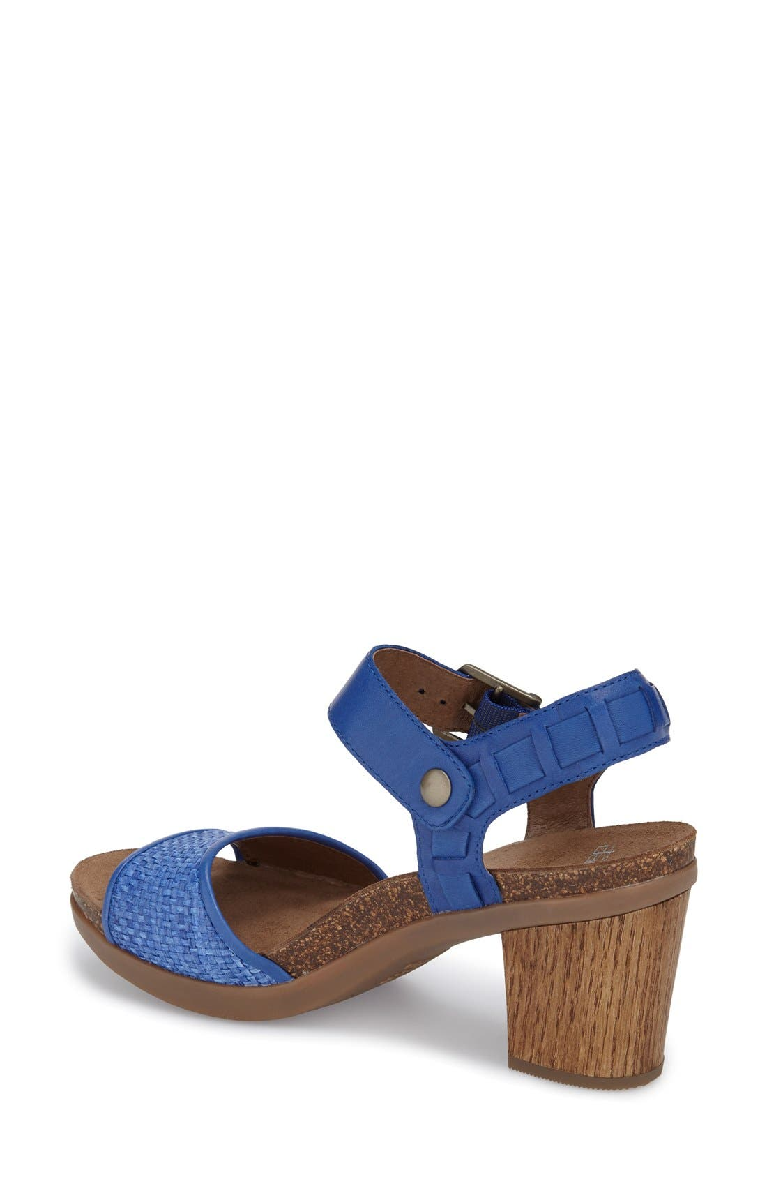 'Debby' Platform Sandal,                             Alternate thumbnail 6, color,